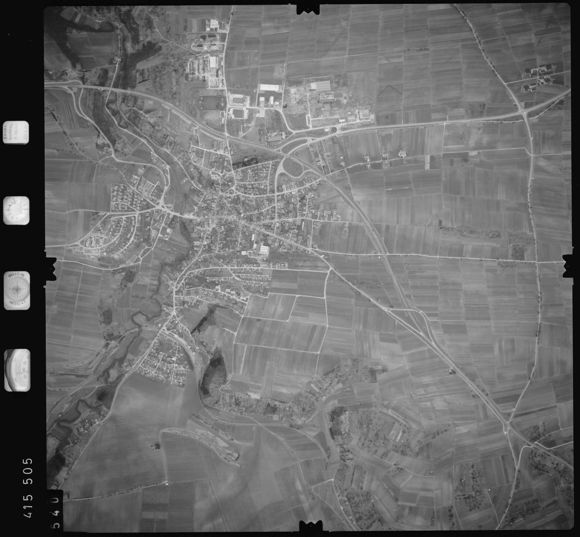 Luftbild: Film 2 Bildnr. 540, Bild 1