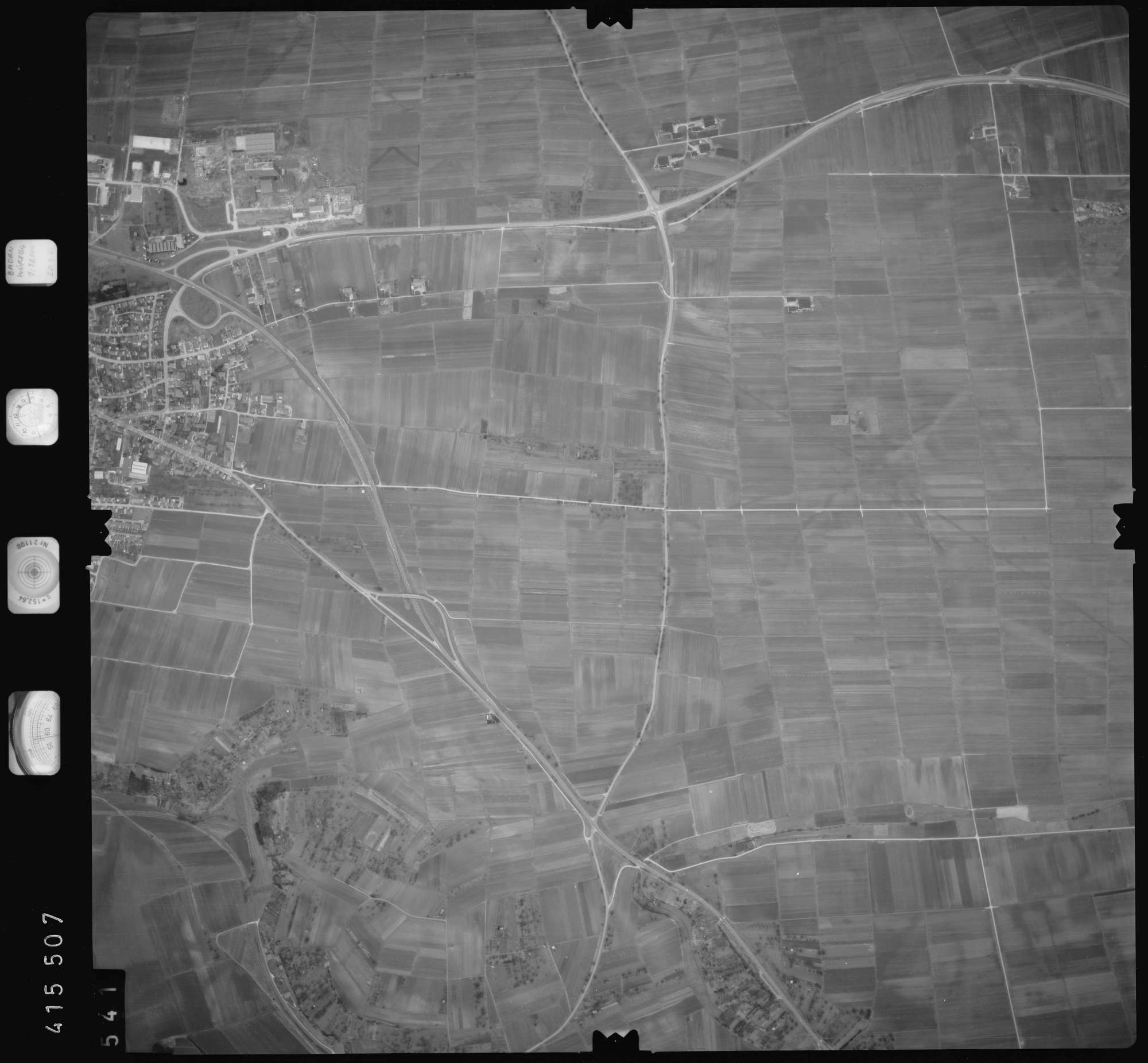 Luftbild: Film 2 Bildnr. 541, Bild 1
