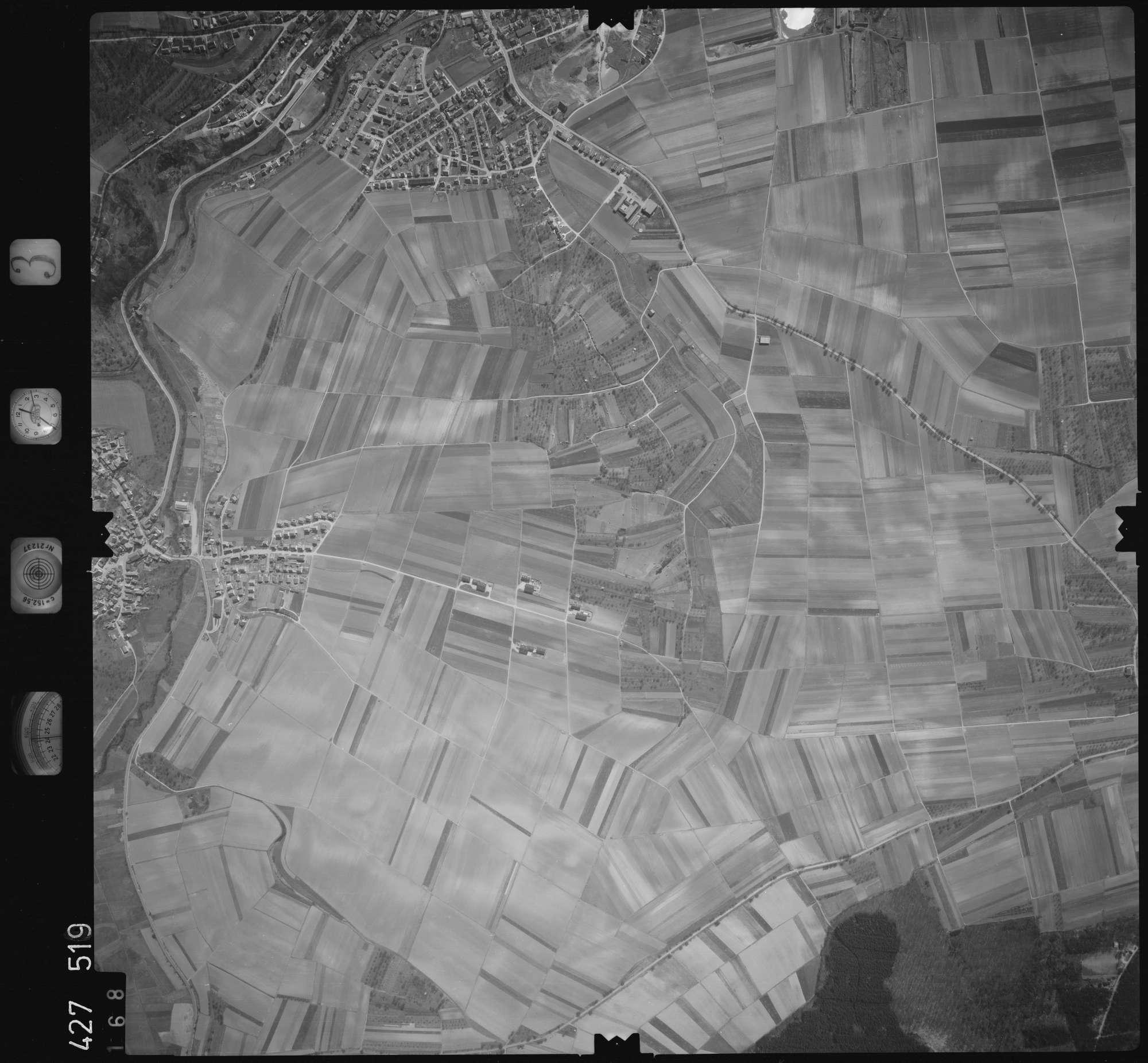 Luftbild: Film 3 Bildnr. 168, Bild 1