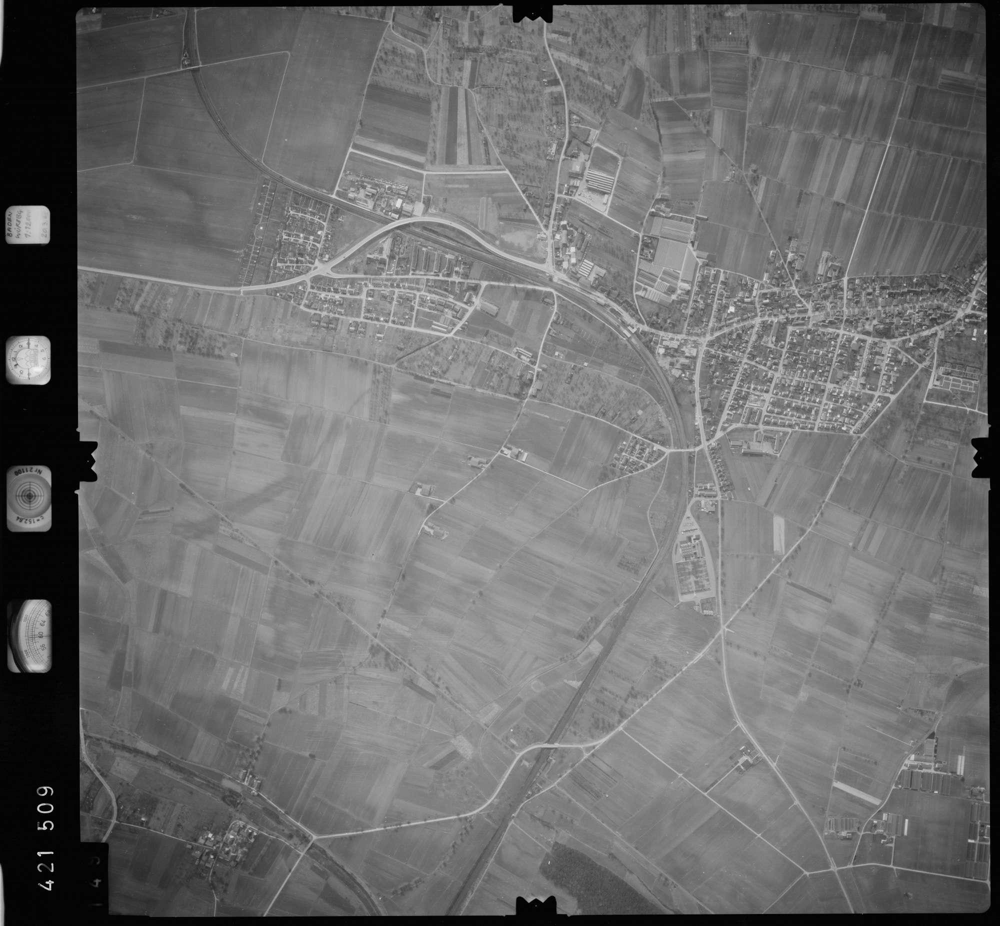 Luftbild: Film 1 Bildnr. 149, Bild 1