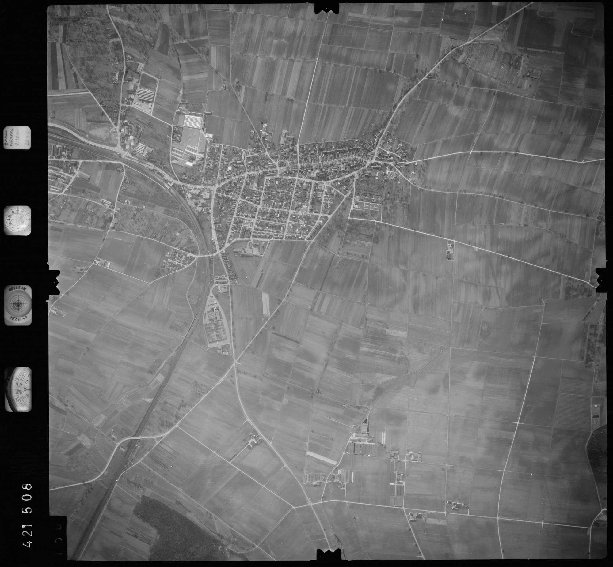 Luftbild: Film 1 Bildnr. 150, Bild 1