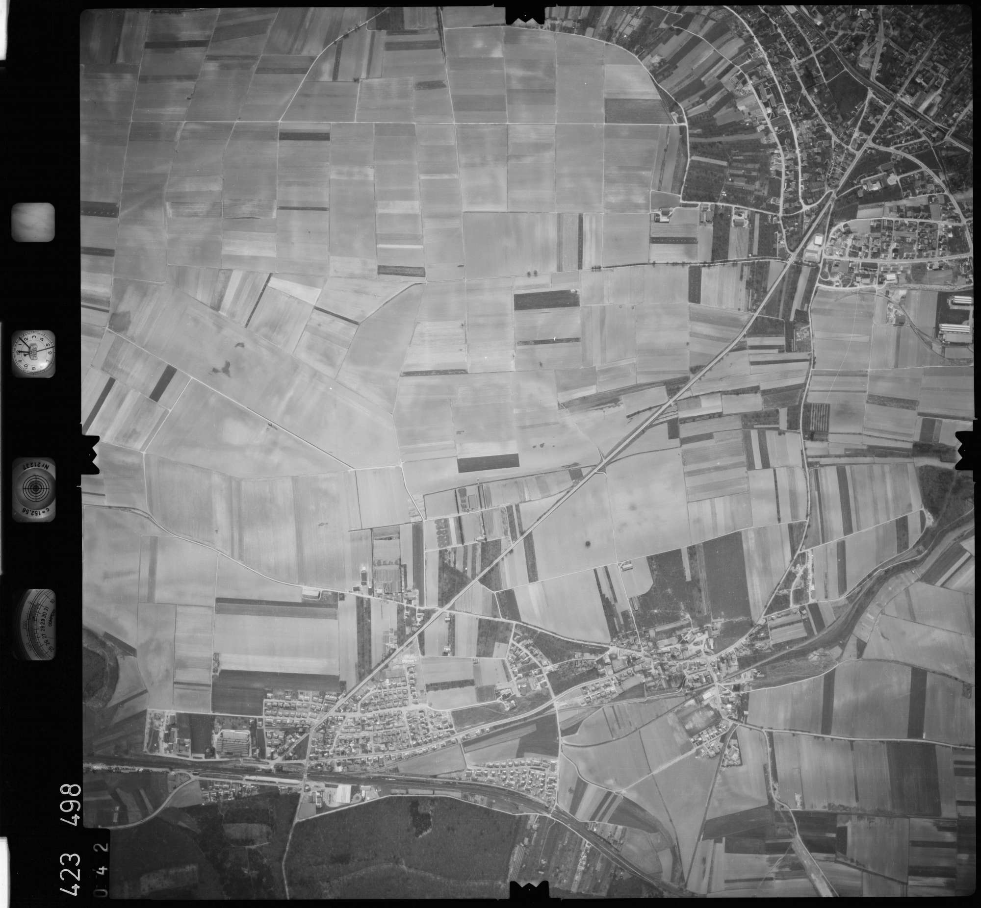 Luftbild: Film 1 Bildnr. 42, Bild 1