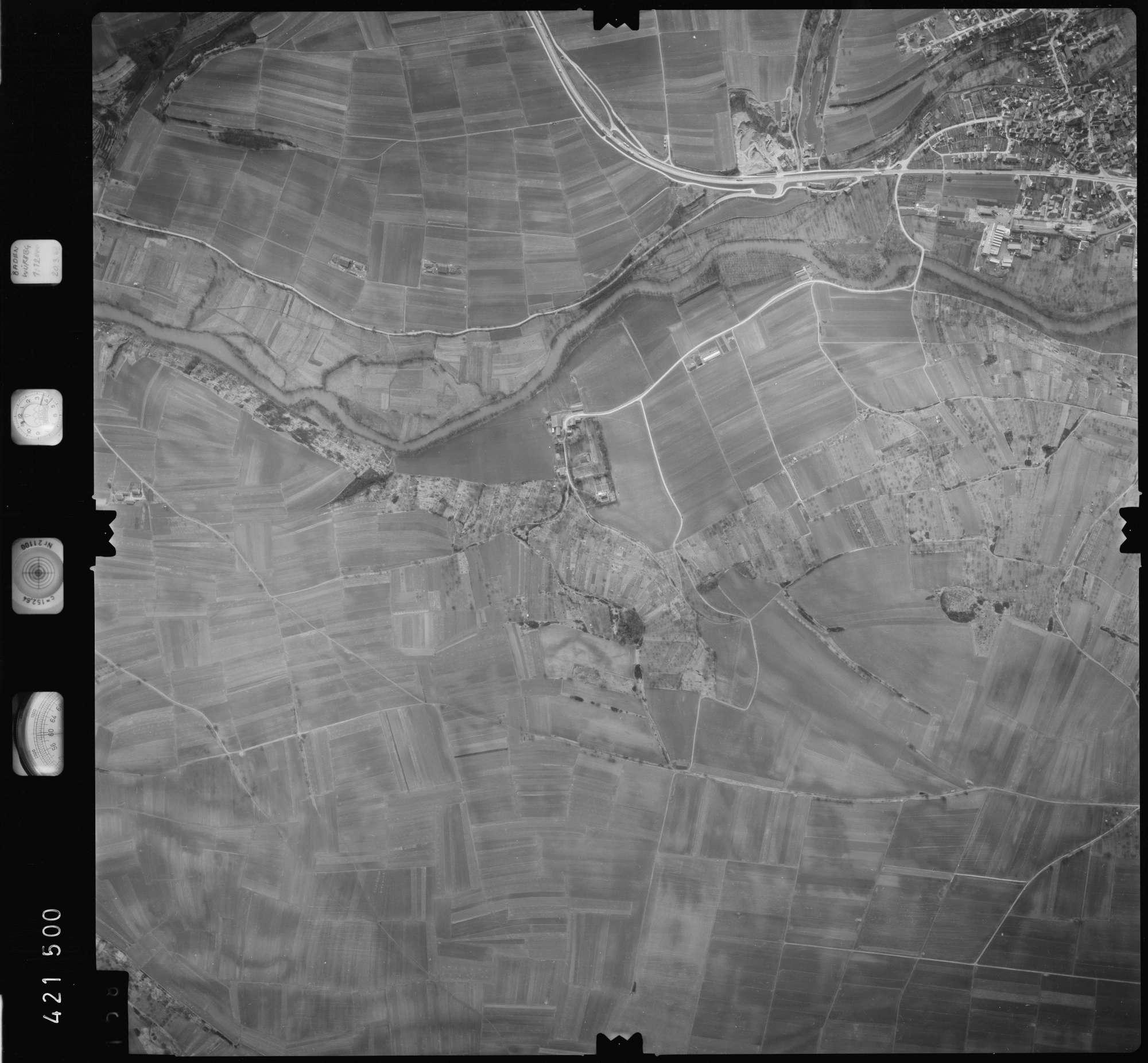 Luftbild: Film 1 Bildnr. 158, Bild 1