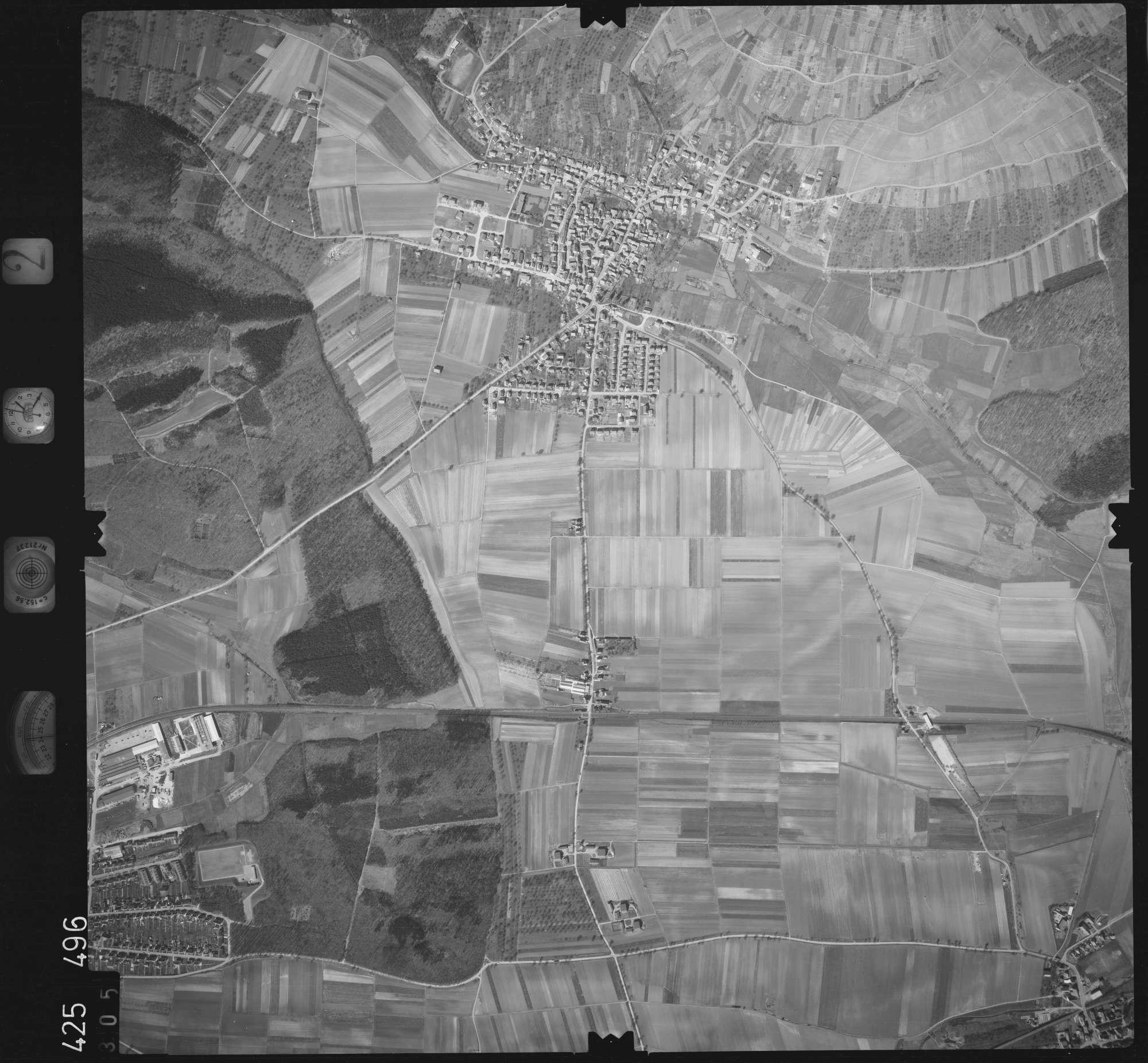 Luftbild: Film 2 Bildnr. 305, Bild 1