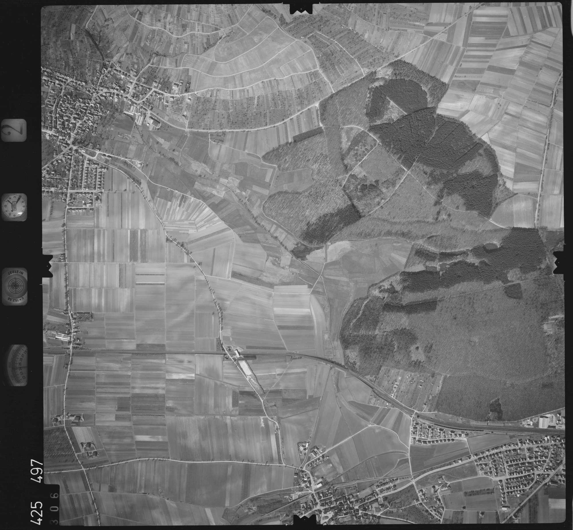 Luftbild: Film 2 Bildnr. 306, Bild 1