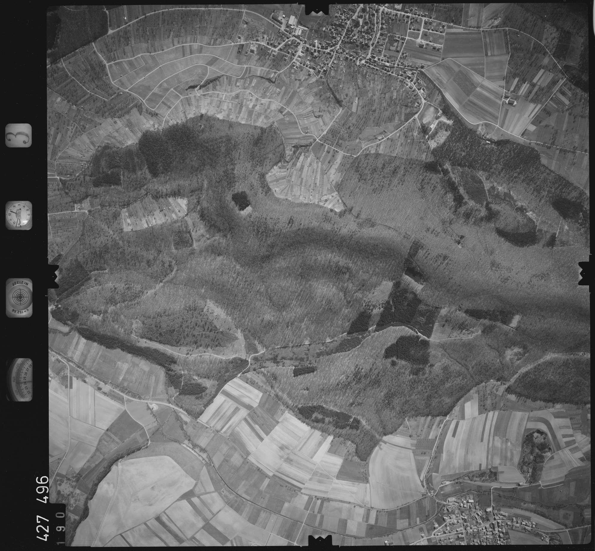 Luftbild: Film 3 Bildnr. 190, Bild 1