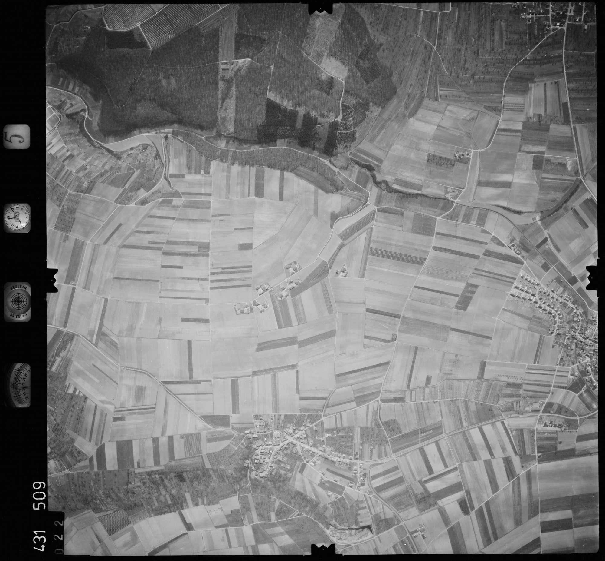 Luftbild: Film 5 Bildnr. 22, Bild 1