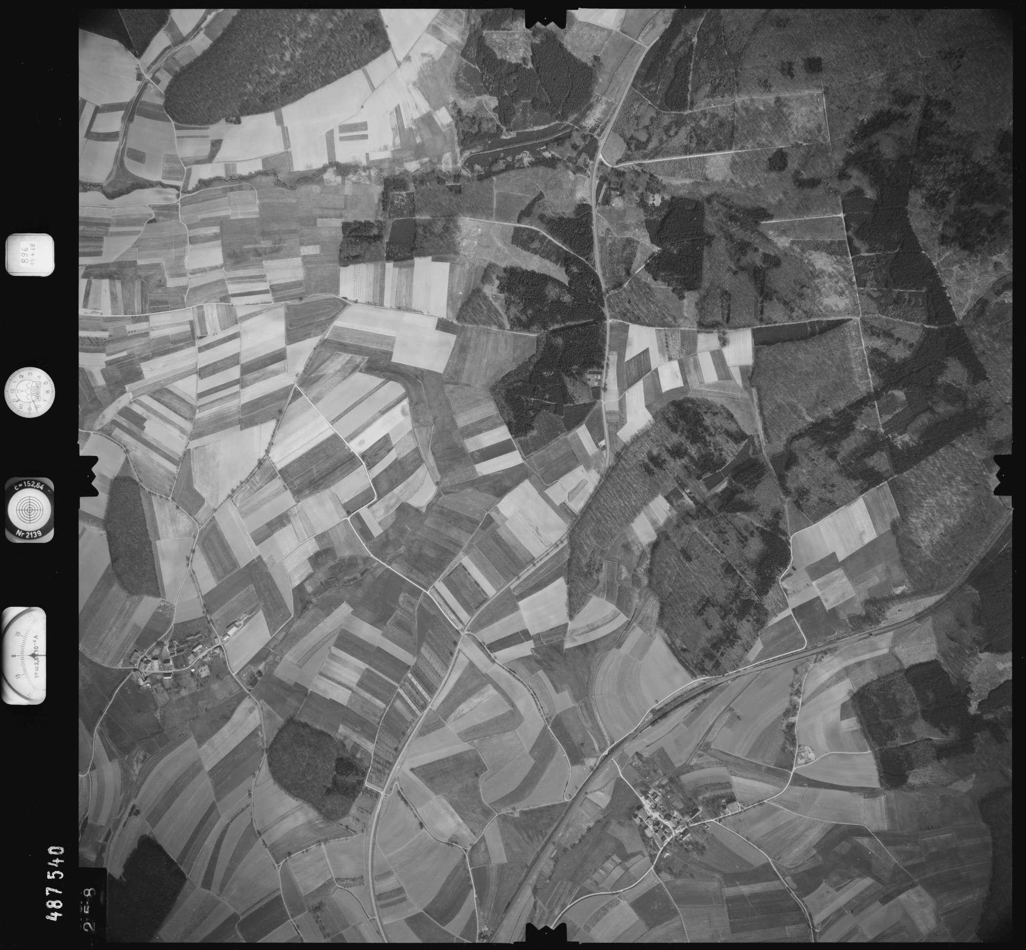 Luftbild: Film 896 Bildnr. 258, Bild 1
