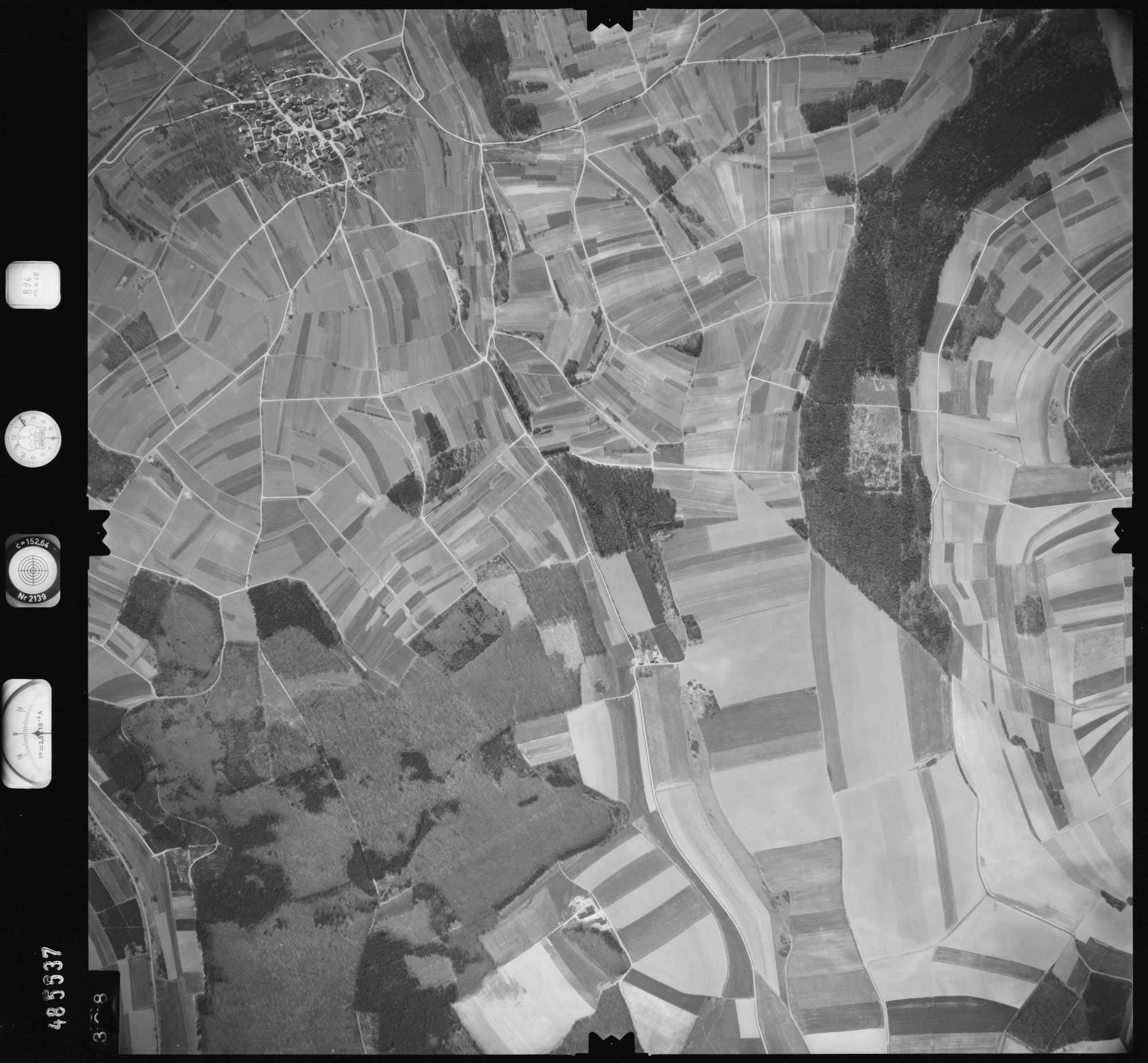 Luftbild: Film 896 Bildnr. 328, Bild 1