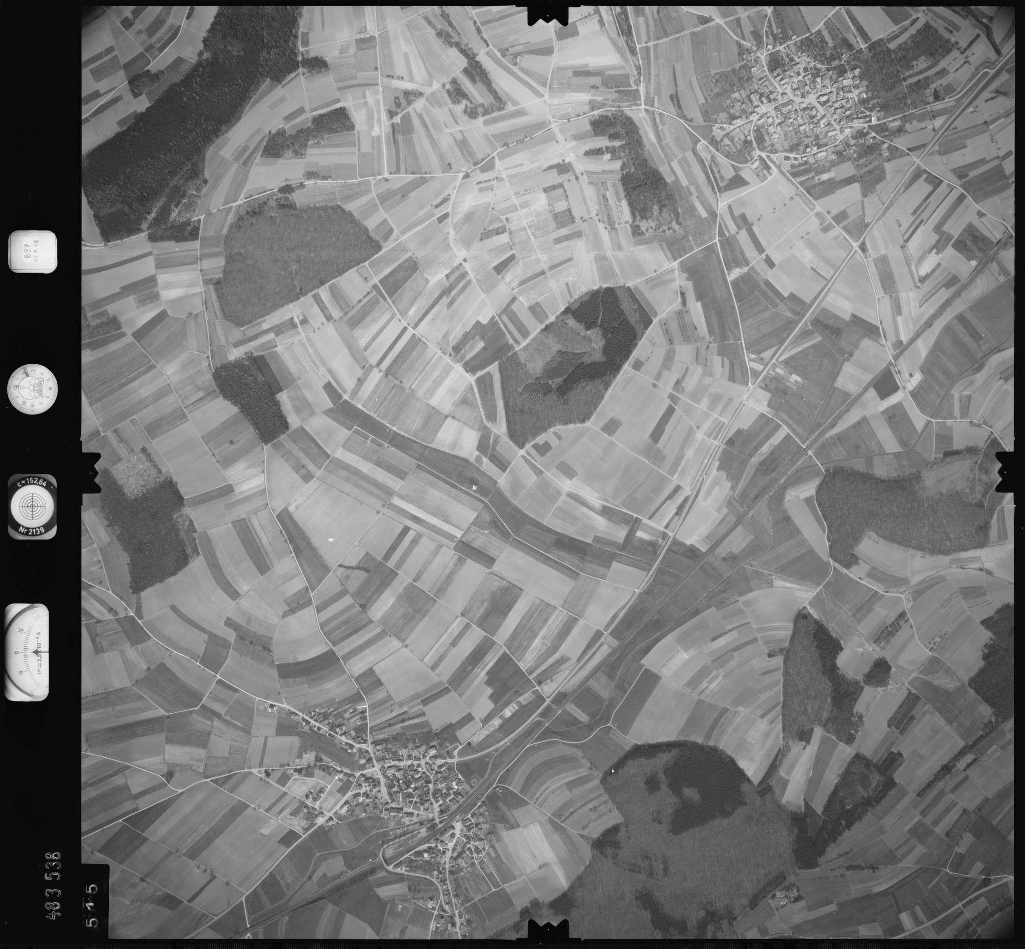Luftbild: Film 897 Bildnr. 515, Bild 1