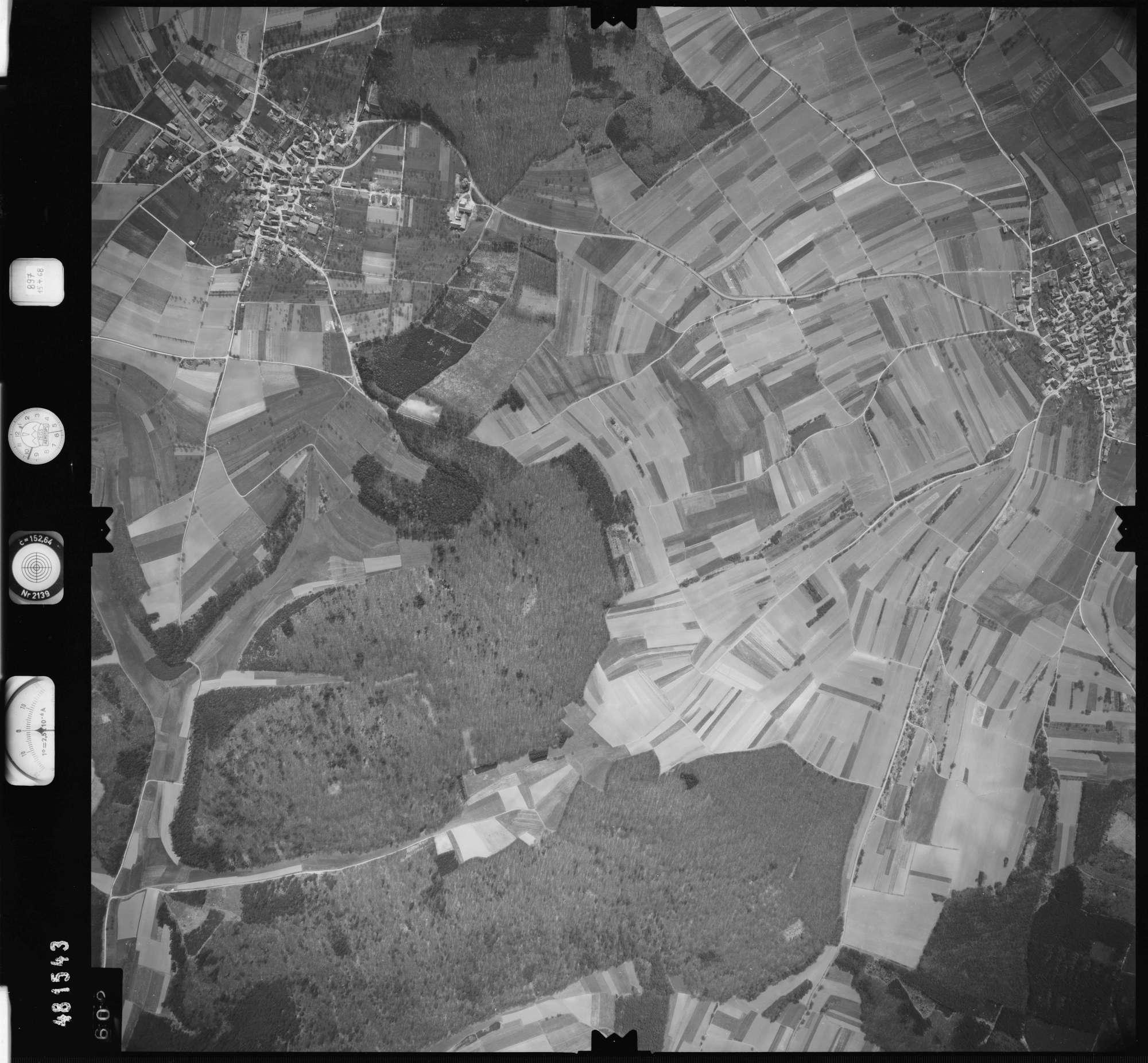 Luftbild: Film 897 Bildnr. 602, Bild 1