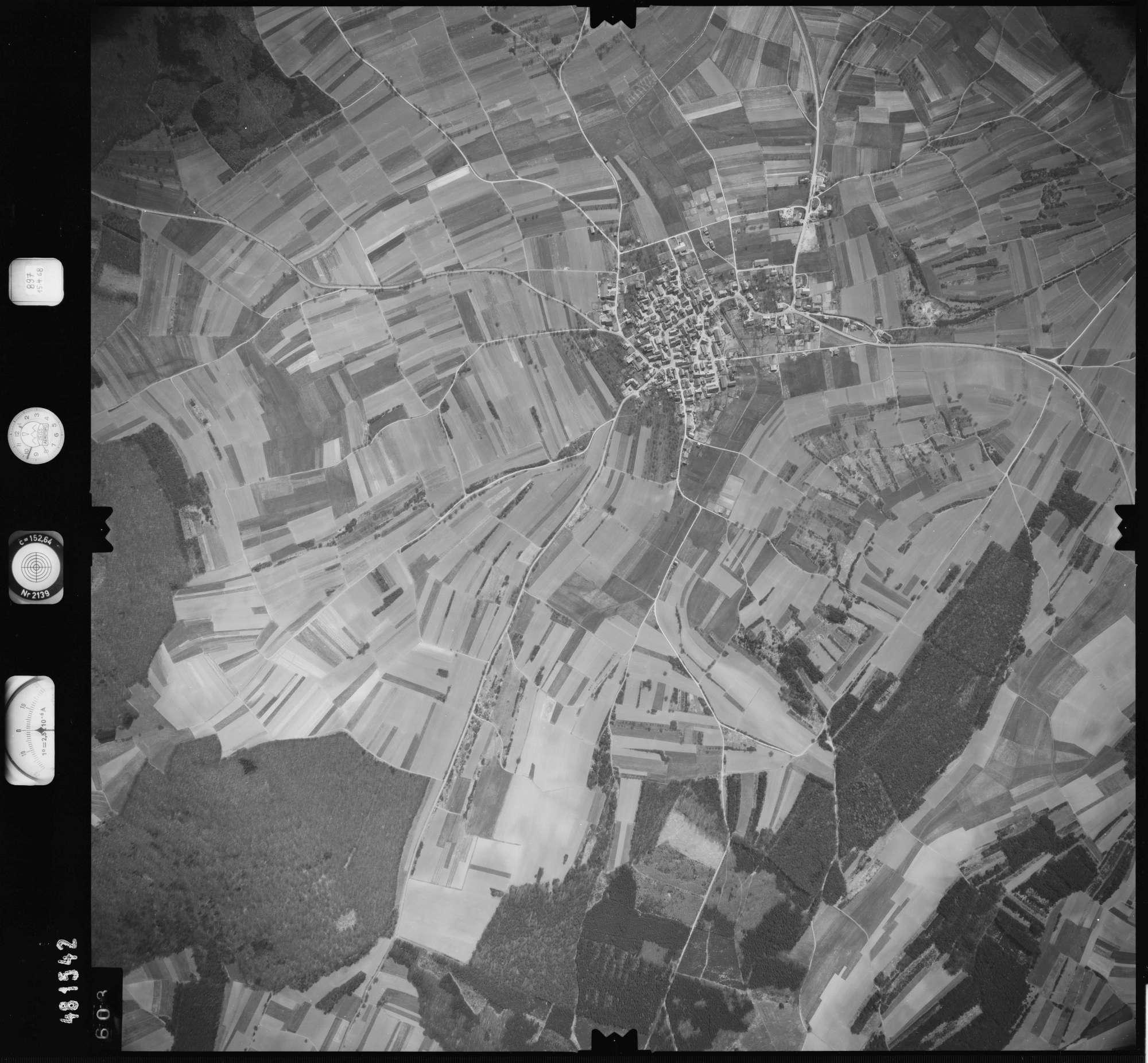 Luftbild: Film 897 Bildnr. 603, Bild 1