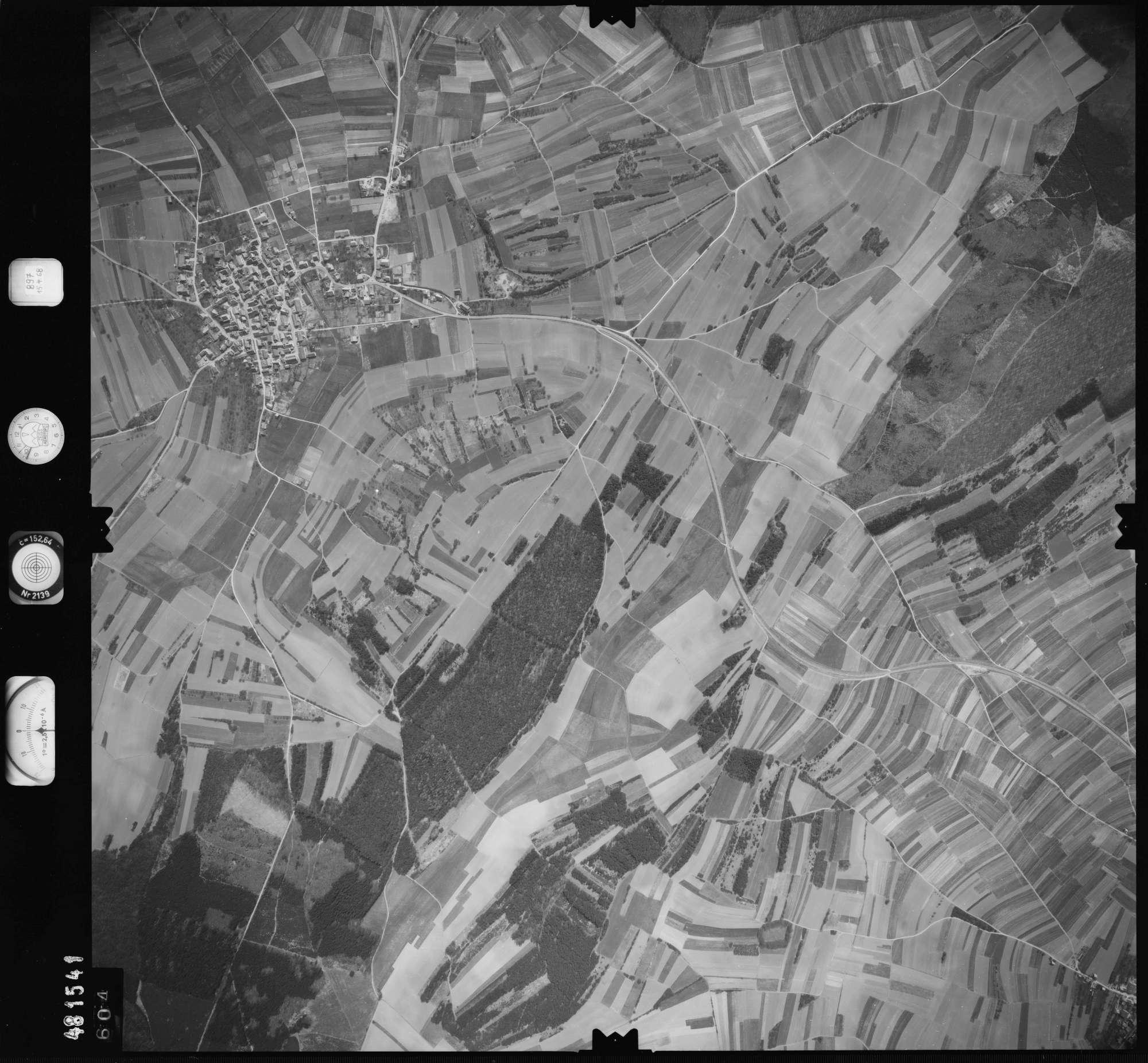 Luftbild: Film 897 Bildnr. 604, Bild 1