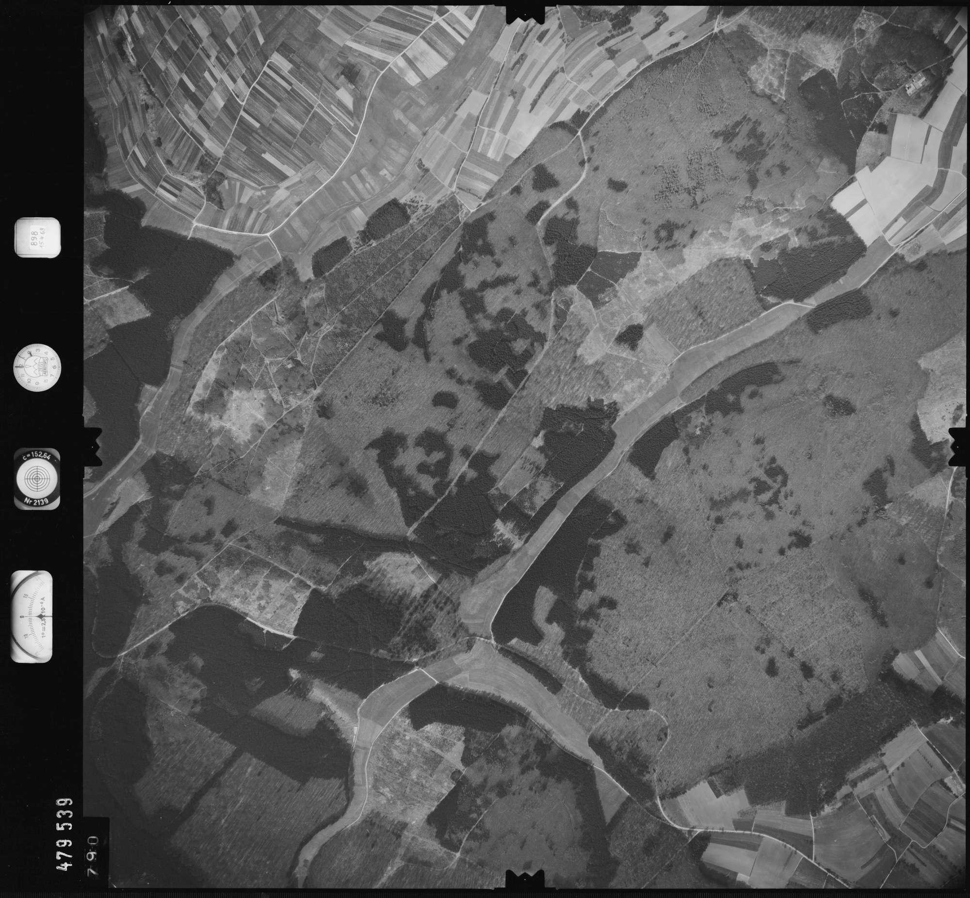Luftbild: Film 898 Bildnr. 790, Bild 1