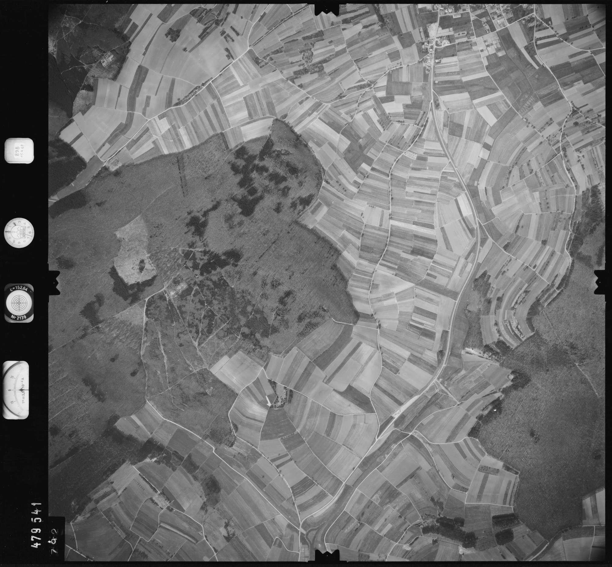 Luftbild: Film 898 Bildnr. 792, Bild 1
