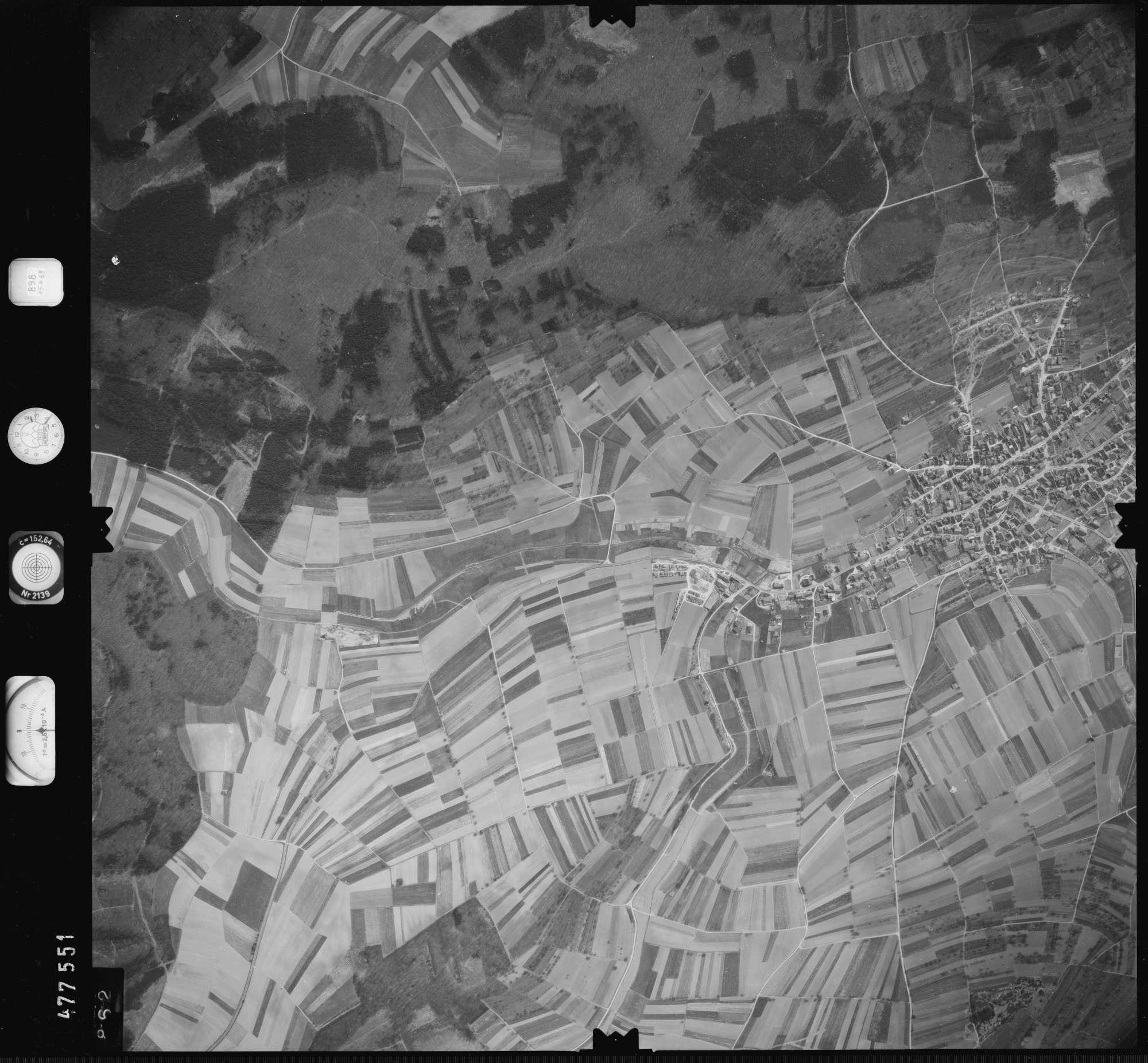 Luftbild: Film 898 Bildnr. 862, Bild 1