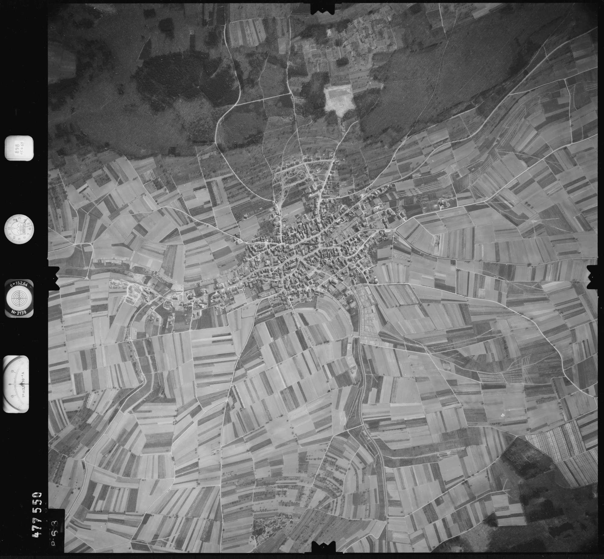 Luftbild: Film 898 Bildnr. 863, Bild 1