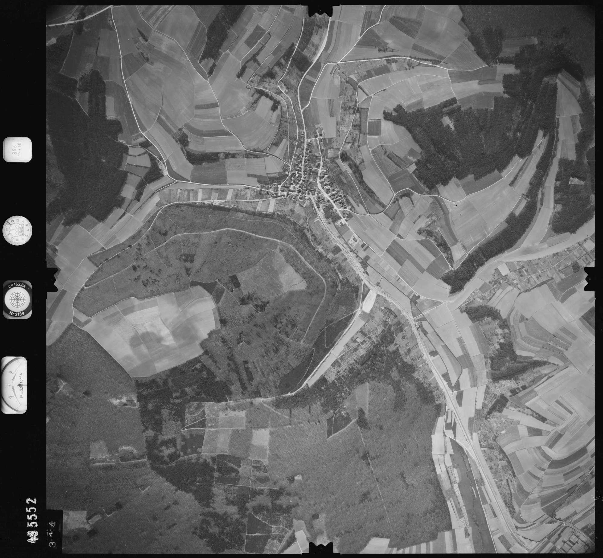 Luftbild: Film 896 Bildnr. 314, Bild 1