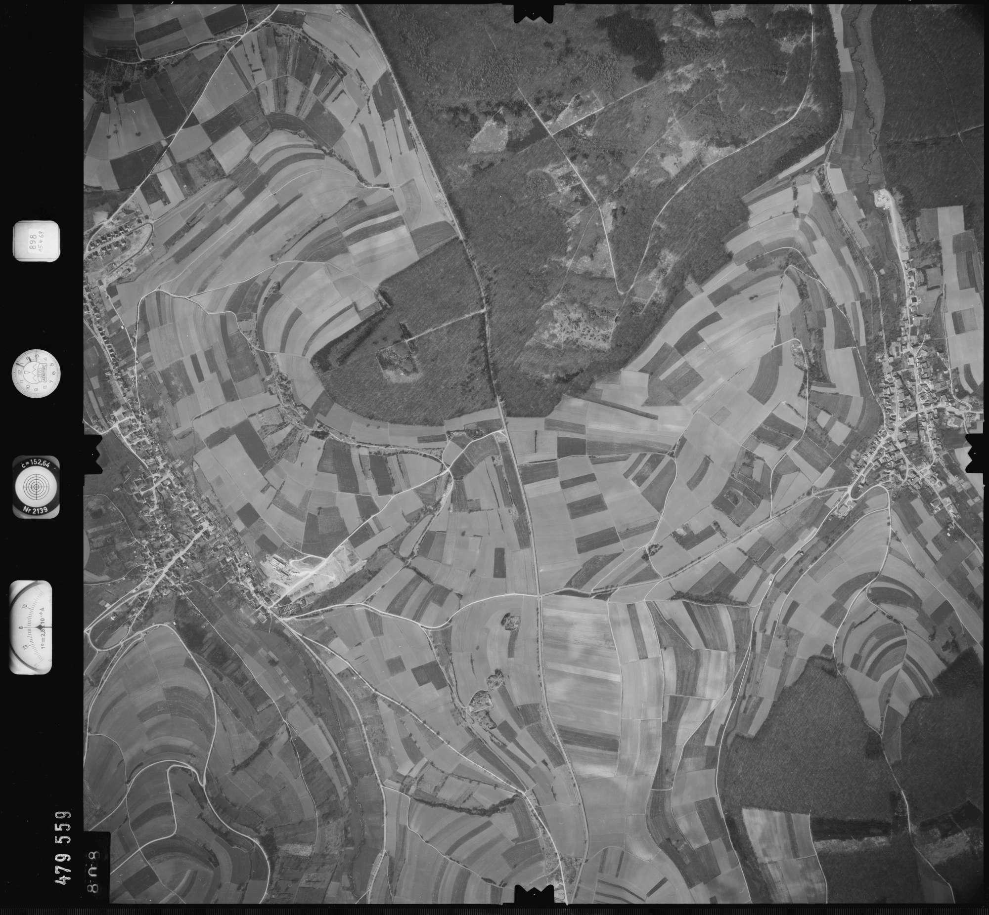 Luftbild: Film 898 Bildnr. 808, Bild 1