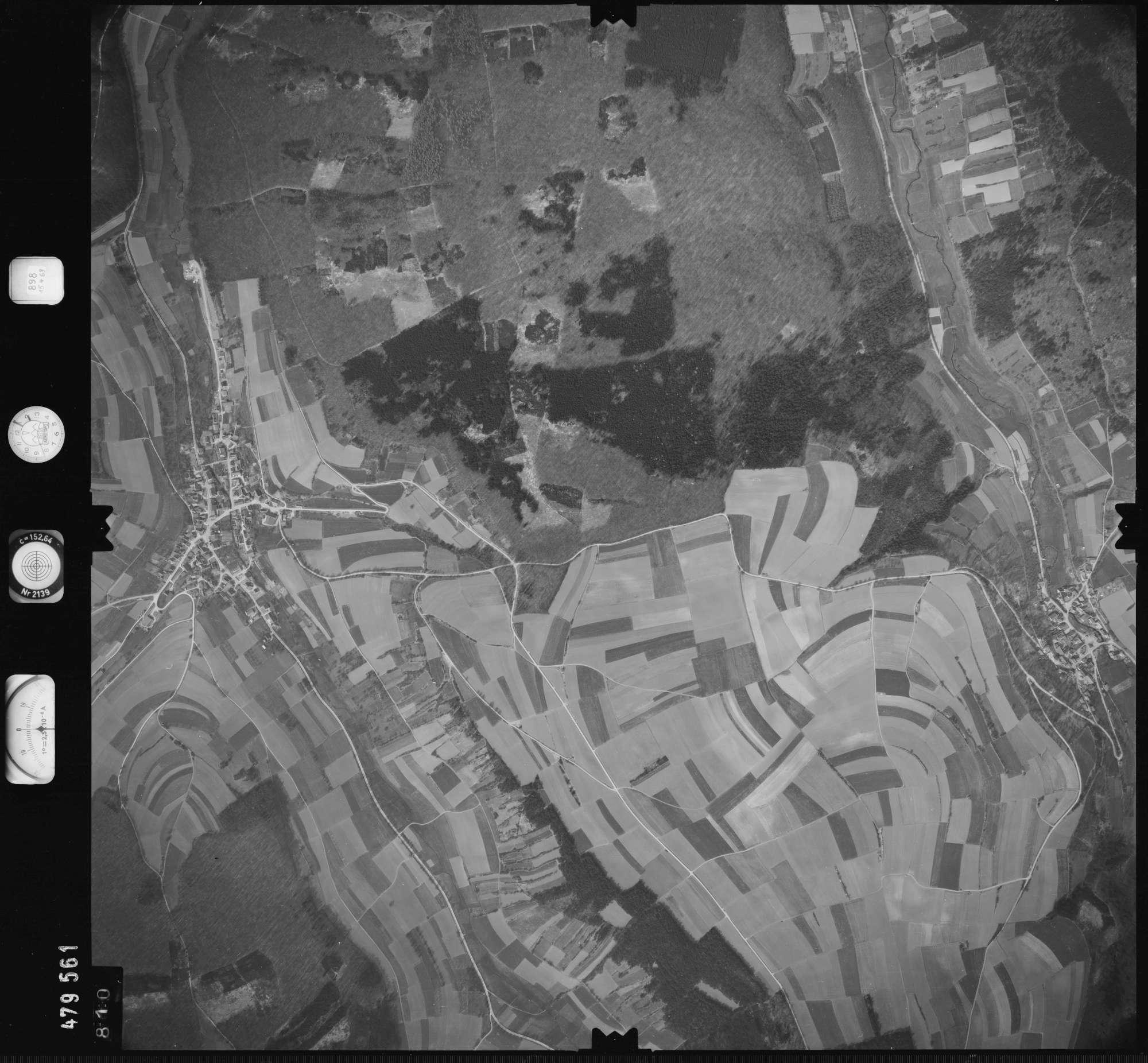 Luftbild: Film 898 Bildnr. 810, Bild 1