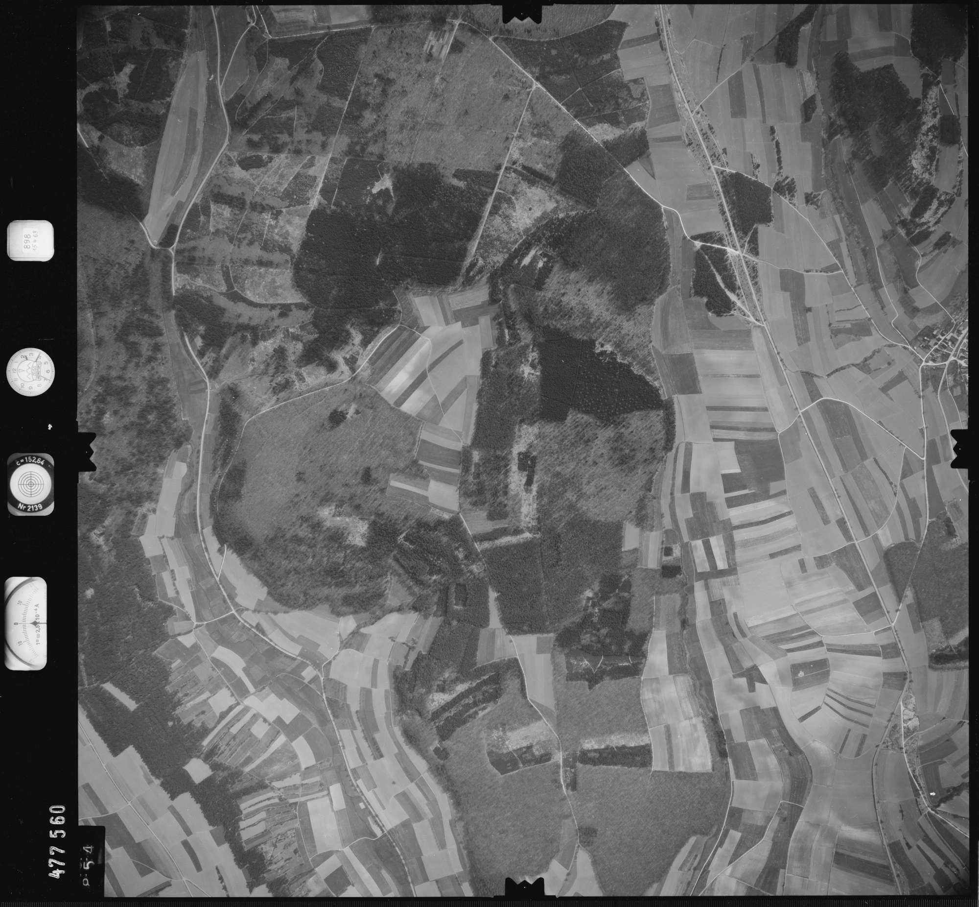 Luftbild: Film 898 Bildnr. 854, Bild 1