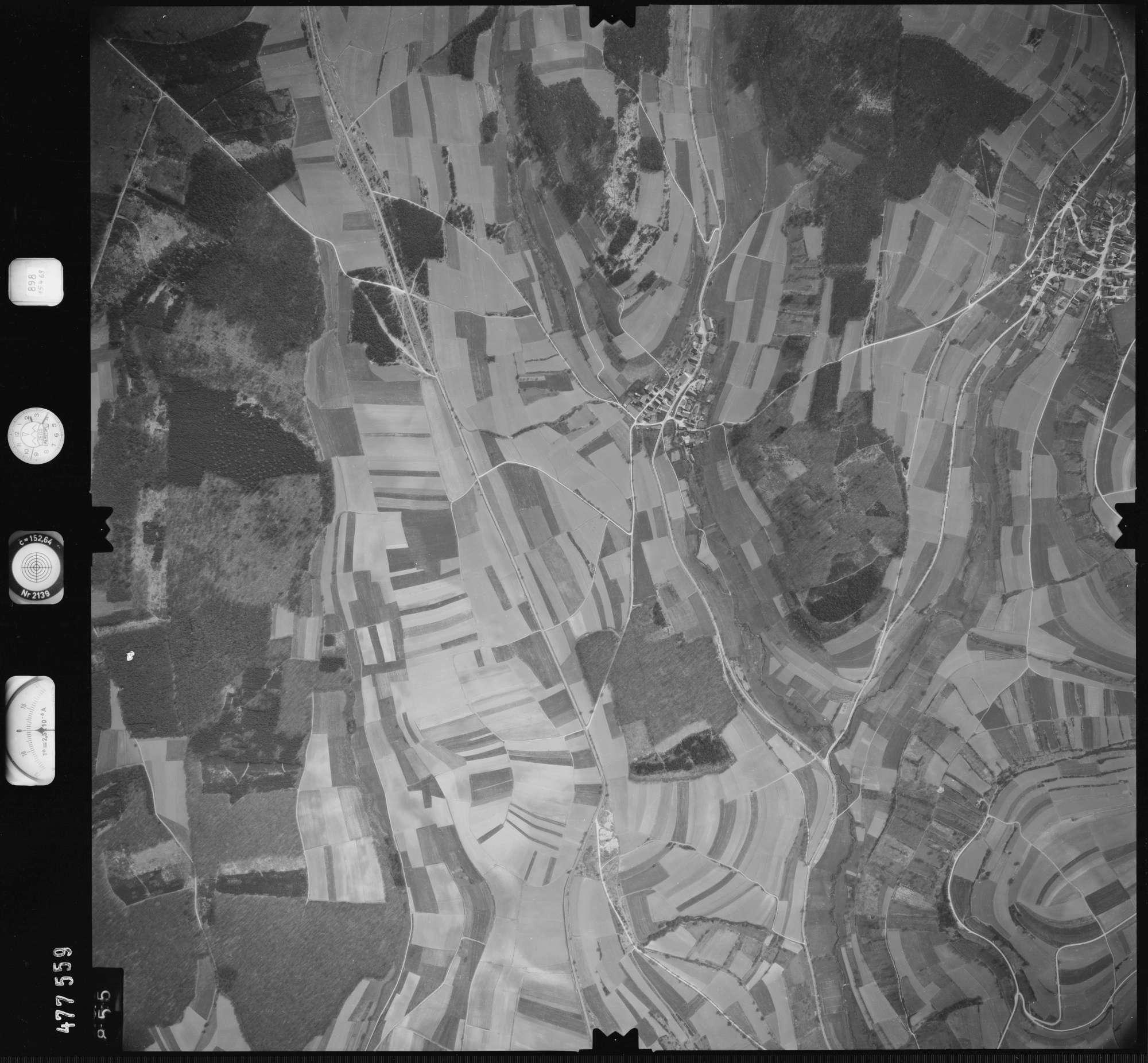 Luftbild: Film 898 Bildnr. 855, Bild 1