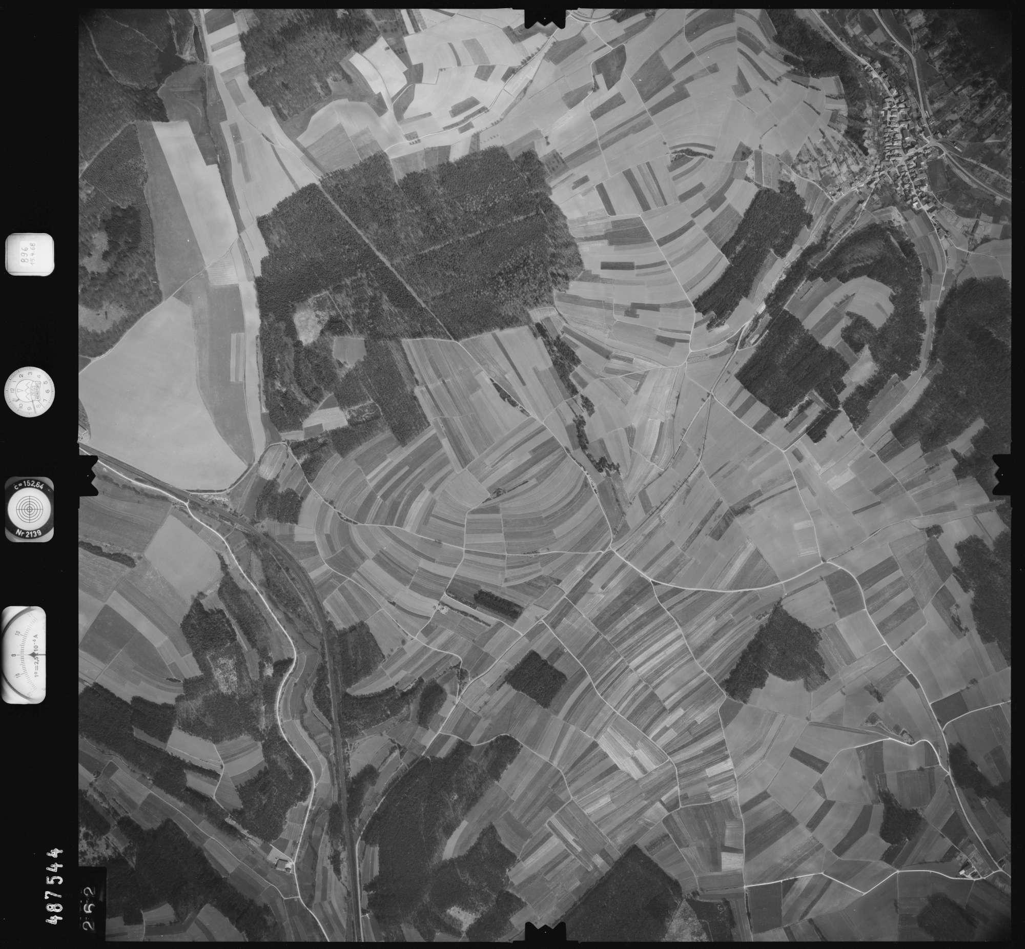 Luftbild: Film 896 Bildnr. 262, Bild 1