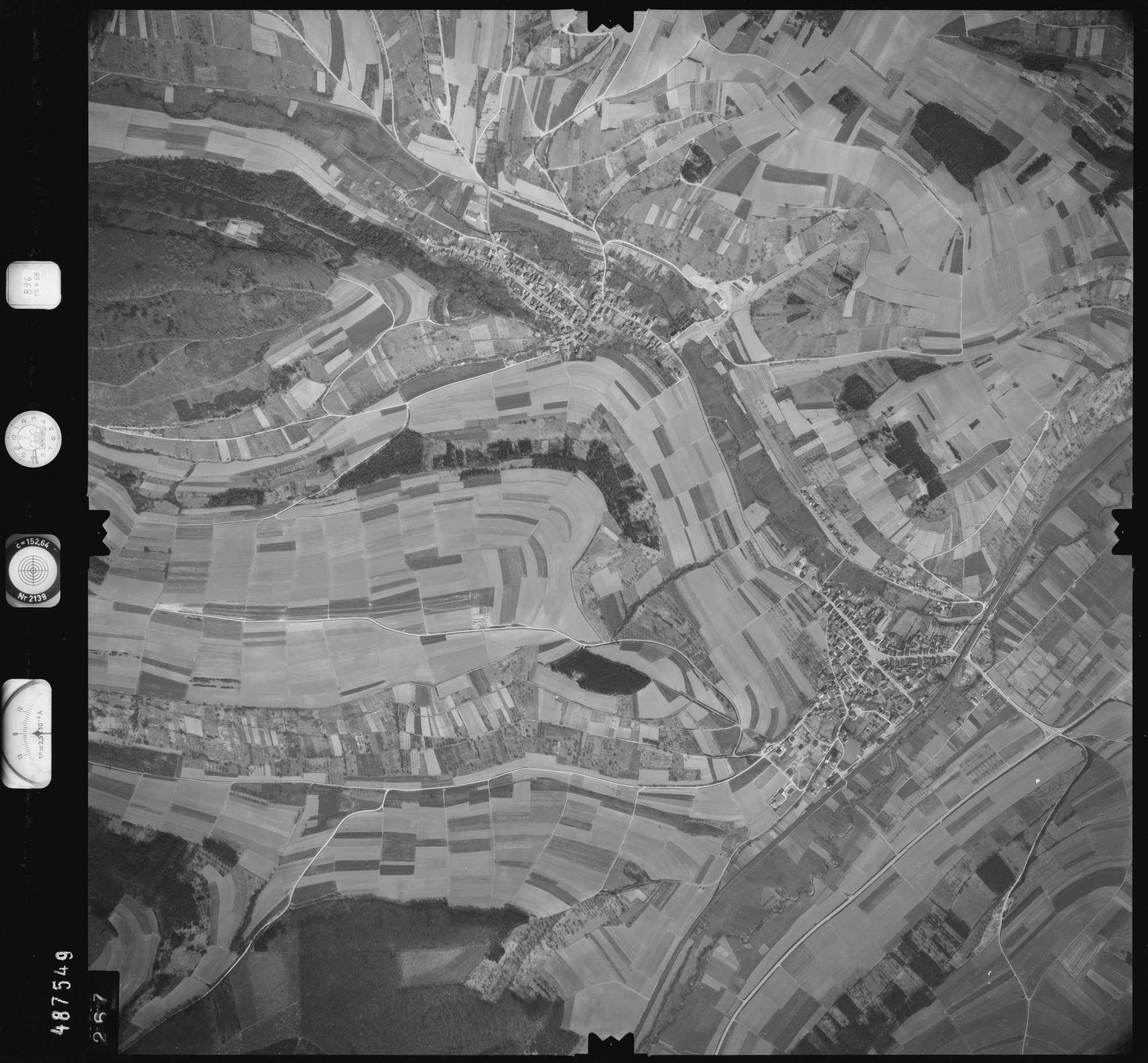 Luftbild: Film 896 Bildnr. 267, Bild 1