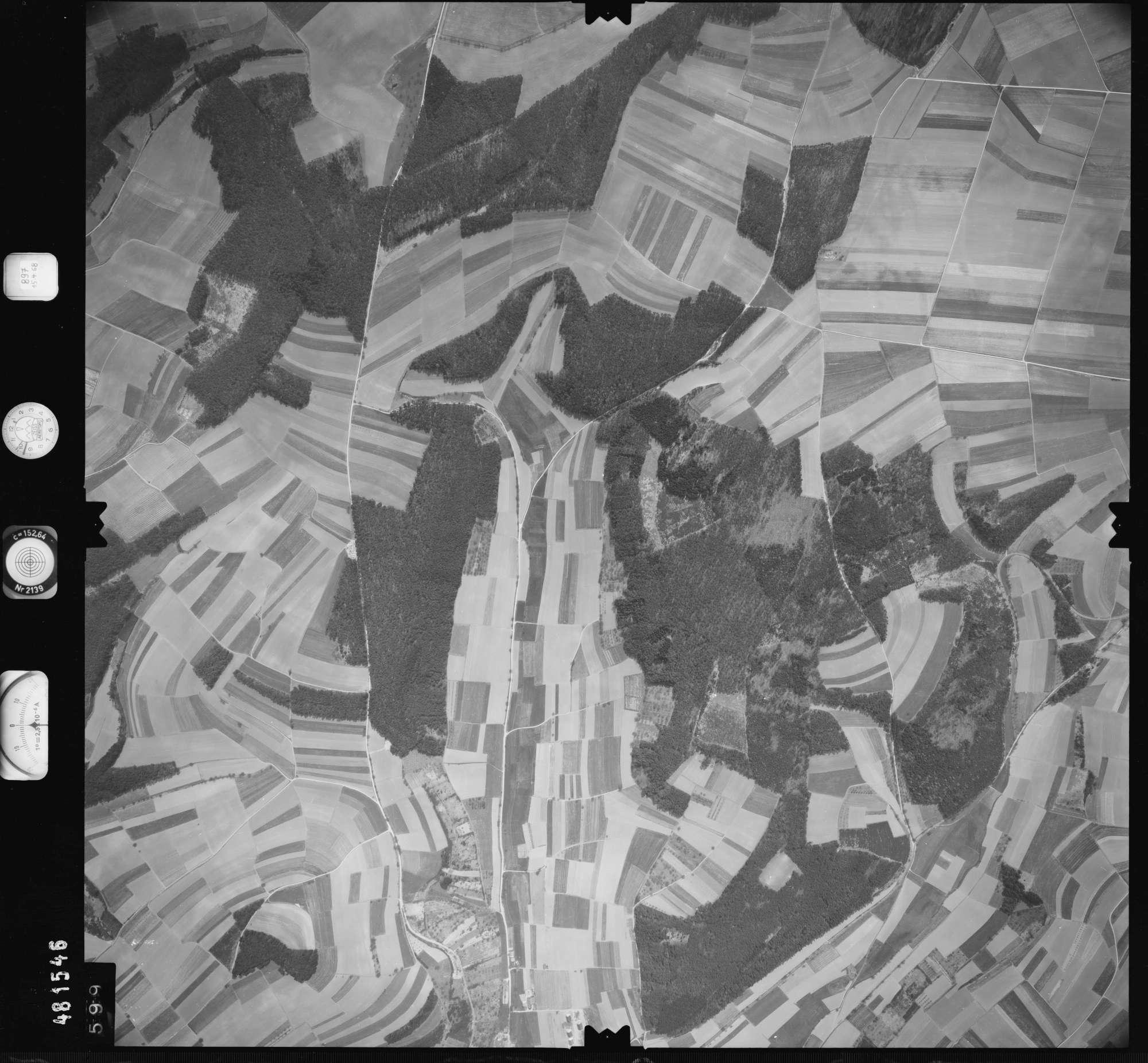 Luftbild: Film 897 Bildnr. 599, Bild 1