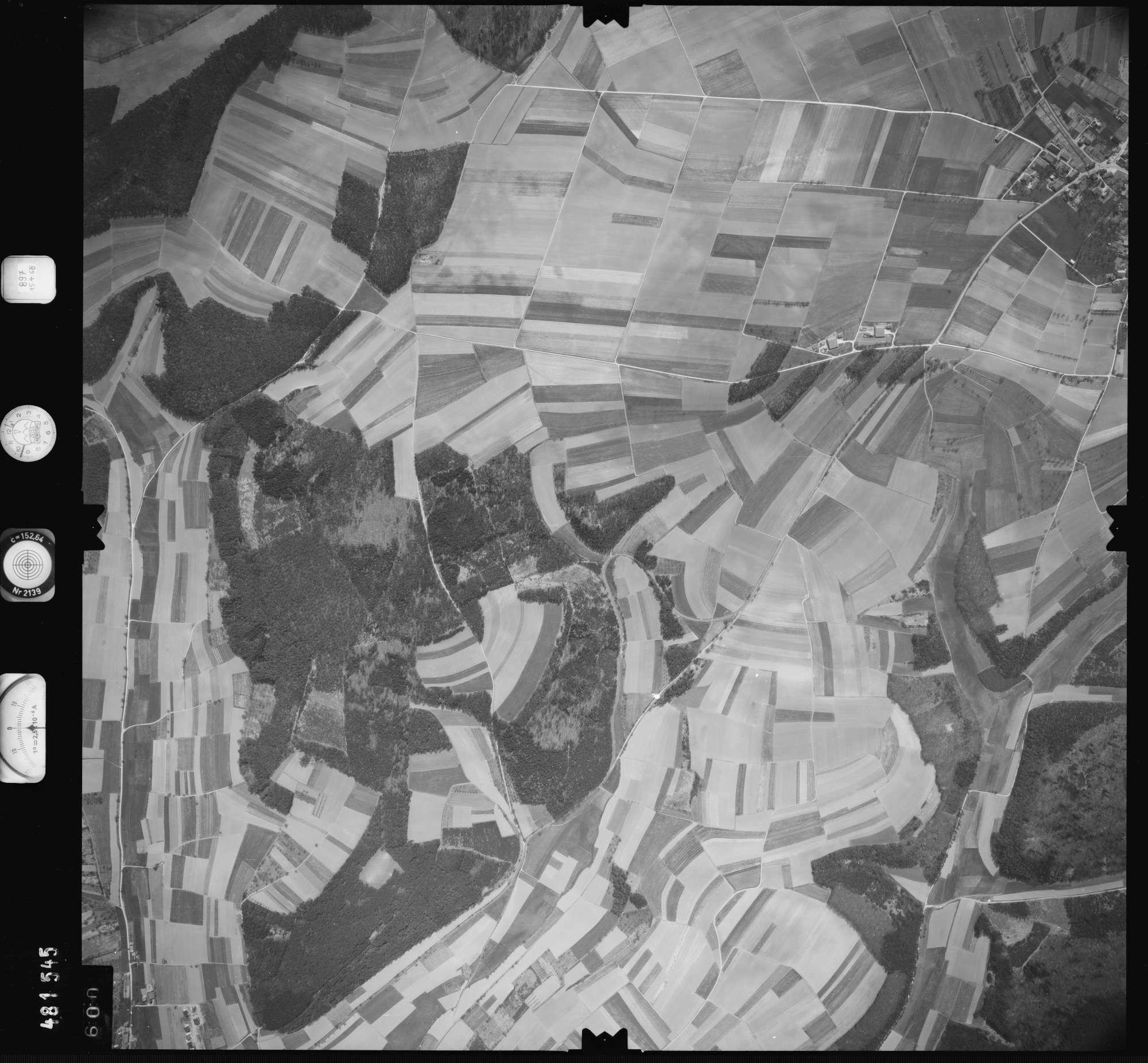 Luftbild: Film 897 Bildnr. 600, Bild 1