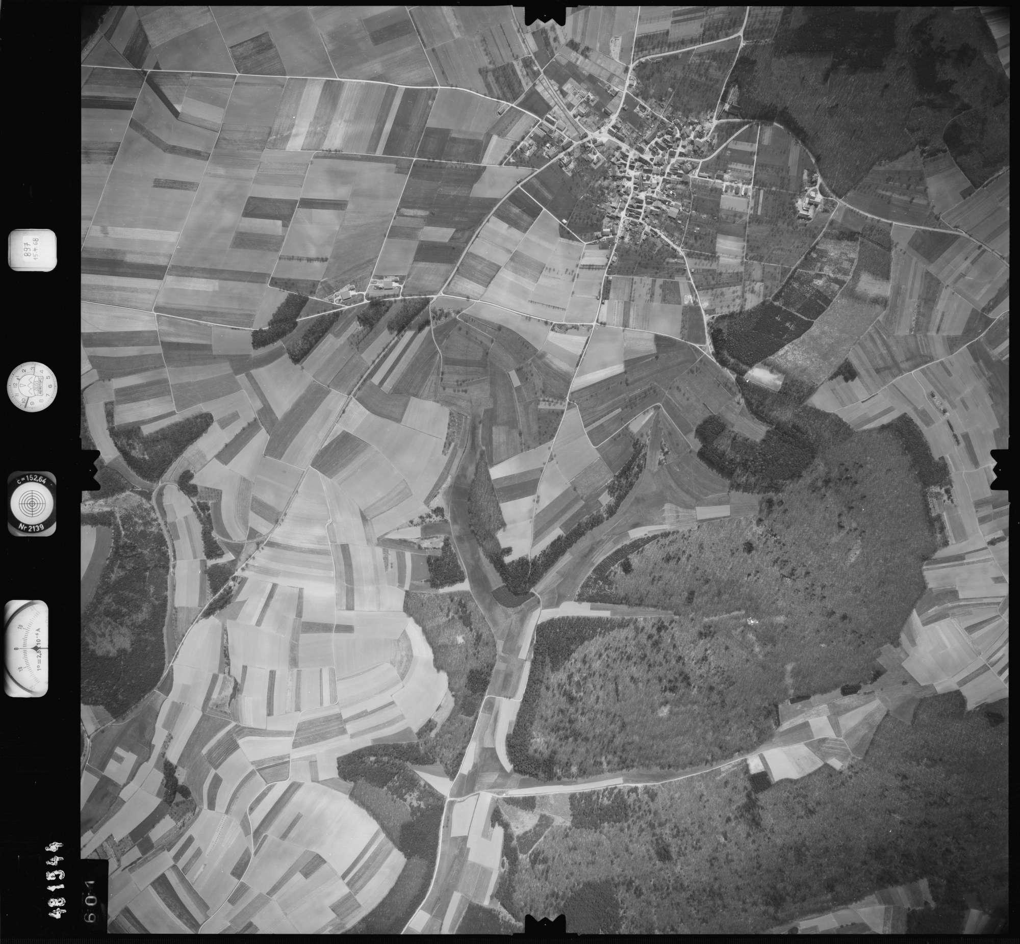 Luftbild: Film 897 Bildnr. 601, Bild 1