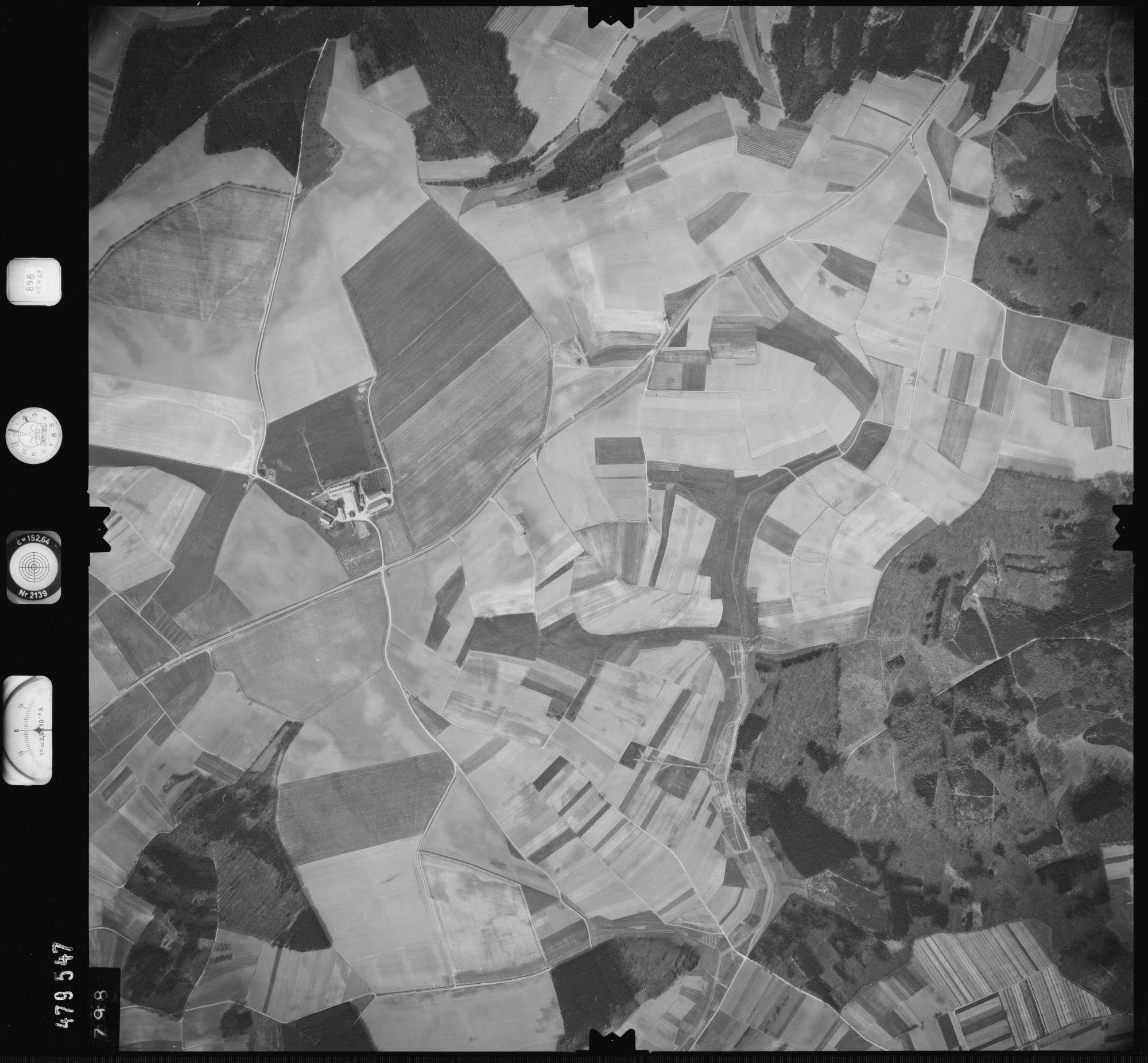 Luftbild: Film 898 Bildnr. 798, Bild 1