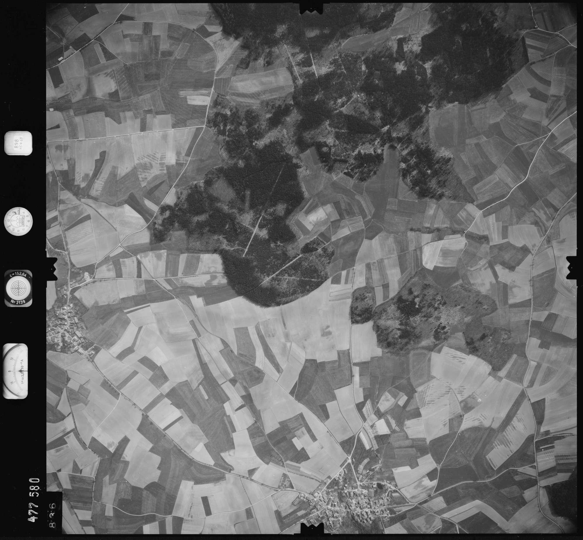 Luftbild: Film 898 Bildnr. 836, Bild 1