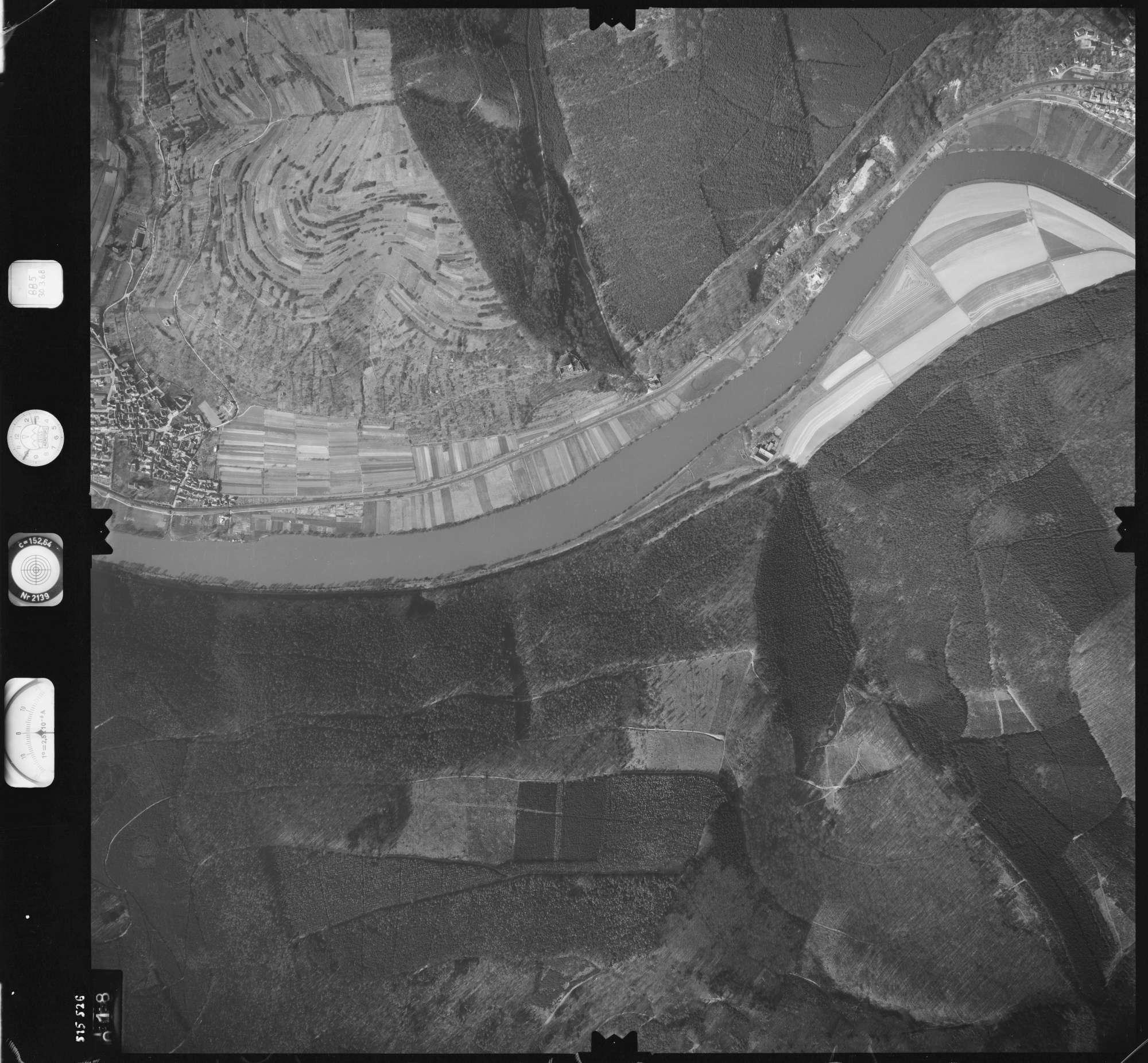 Luftbild: Film 885 Bildnr. 18, Bild 1
