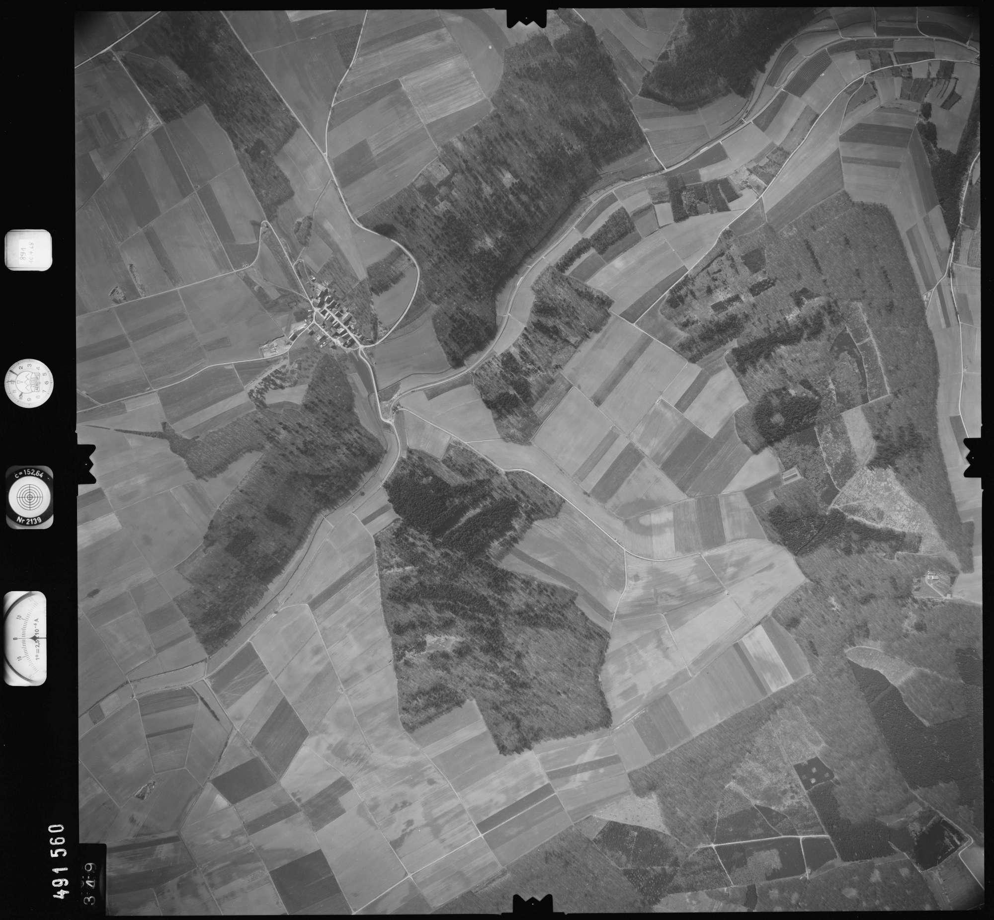Luftbild: Film 891 Bildnr. 349, Bild 1