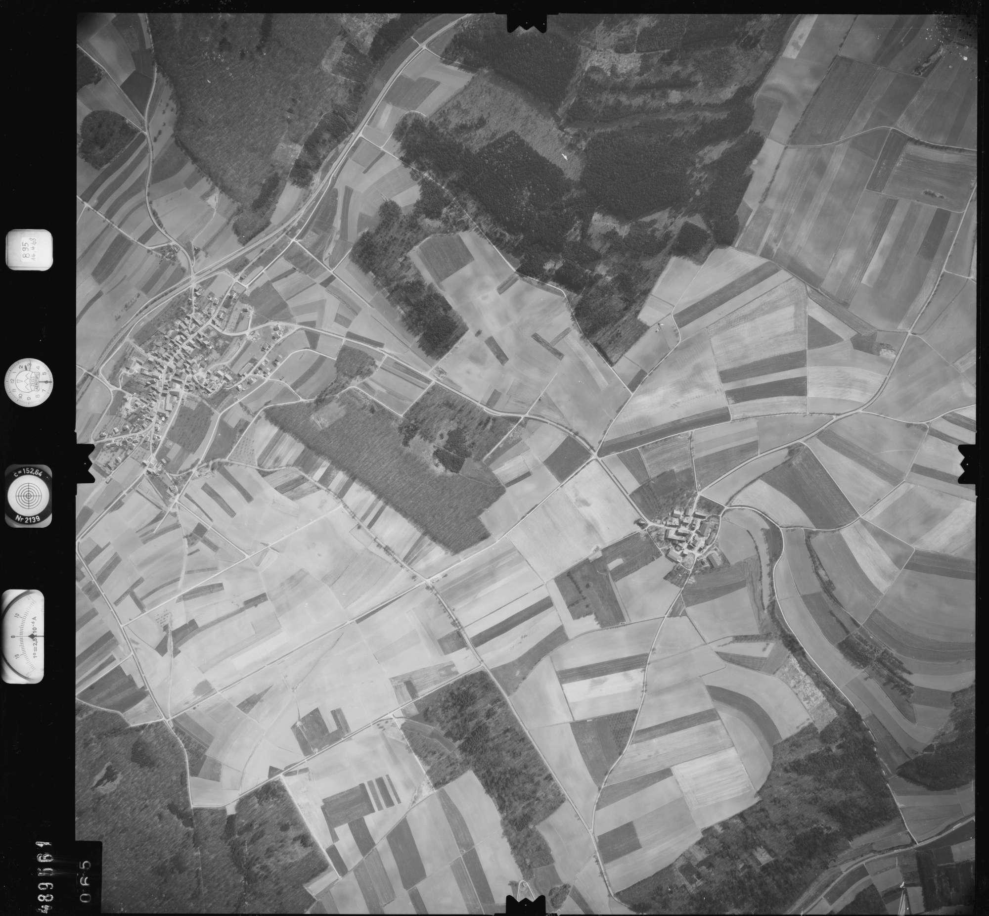 Luftbild: Film 895 Bildnr. 65, Bild 1