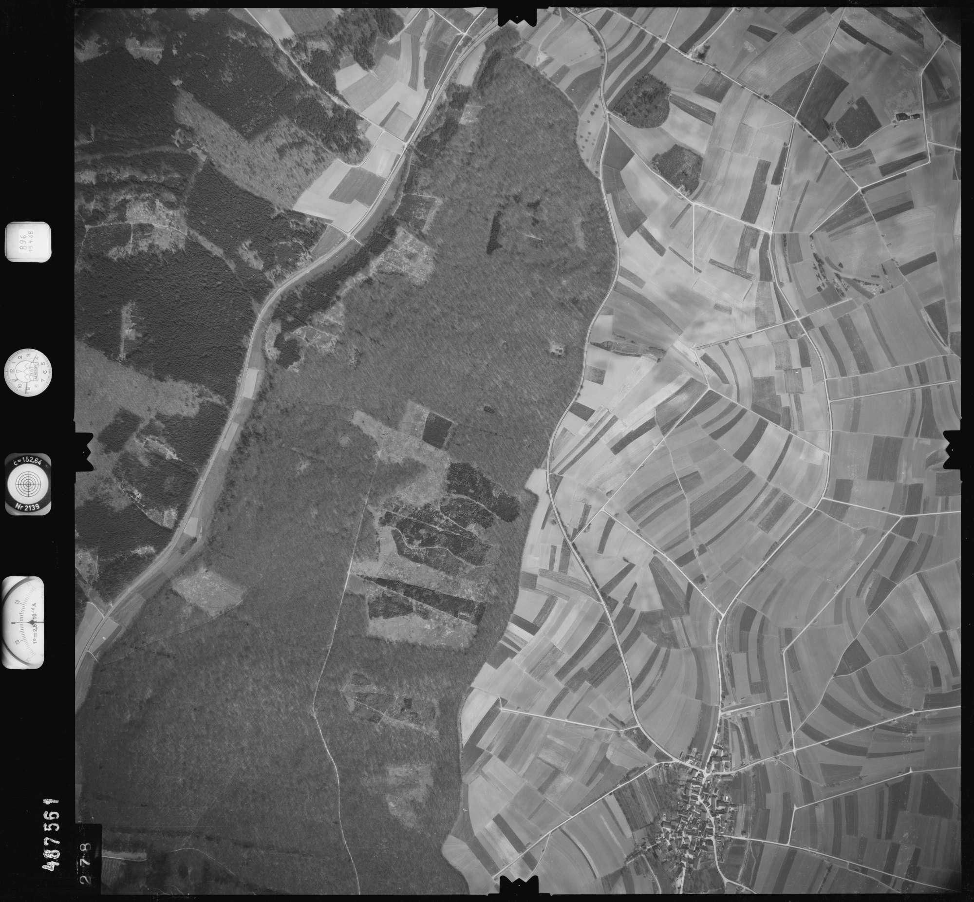 Luftbild: Film 896 Bildnr. 278, Bild 1