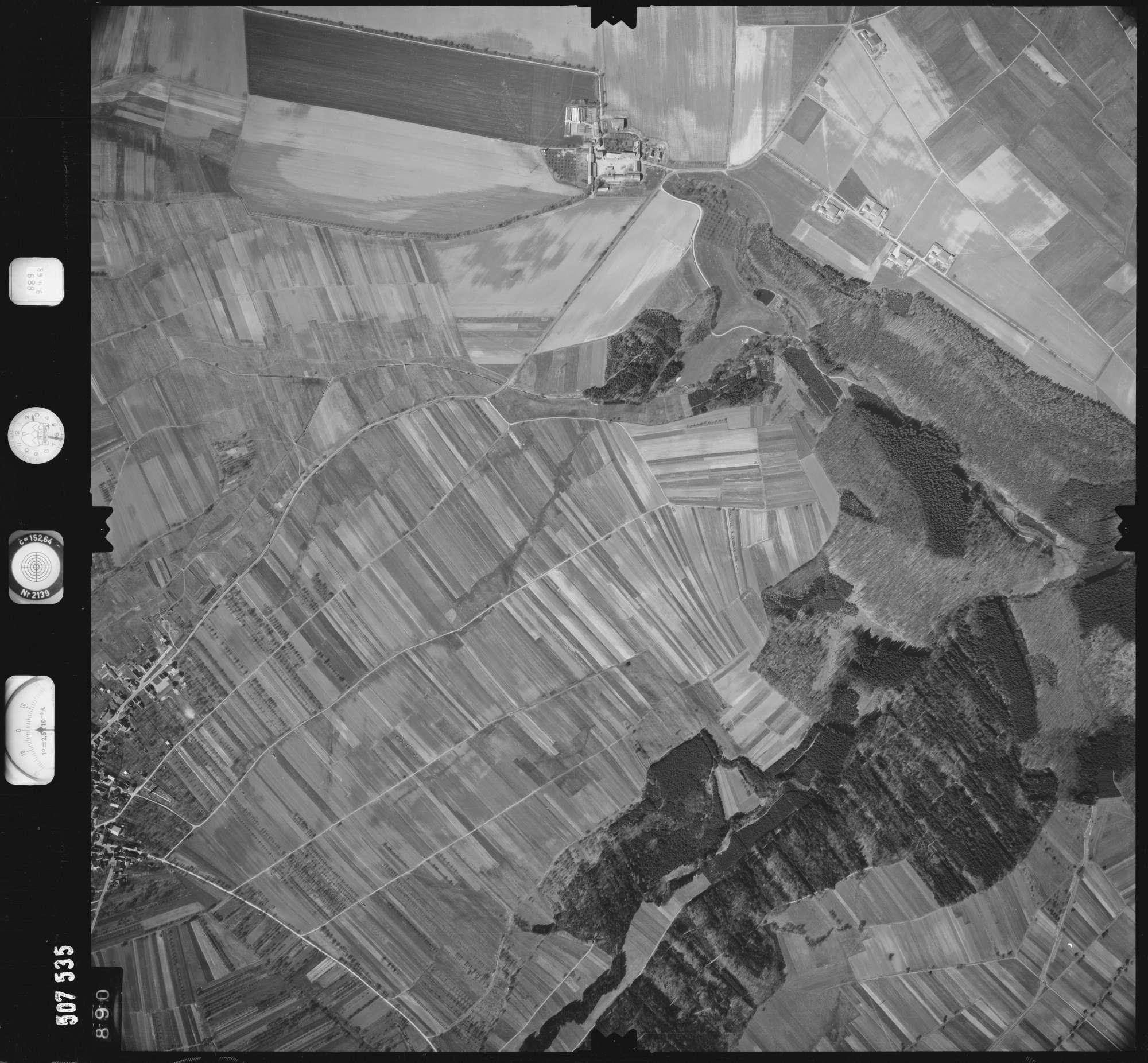 Luftbild: Film 890 Bildnr. 890, Bild 1