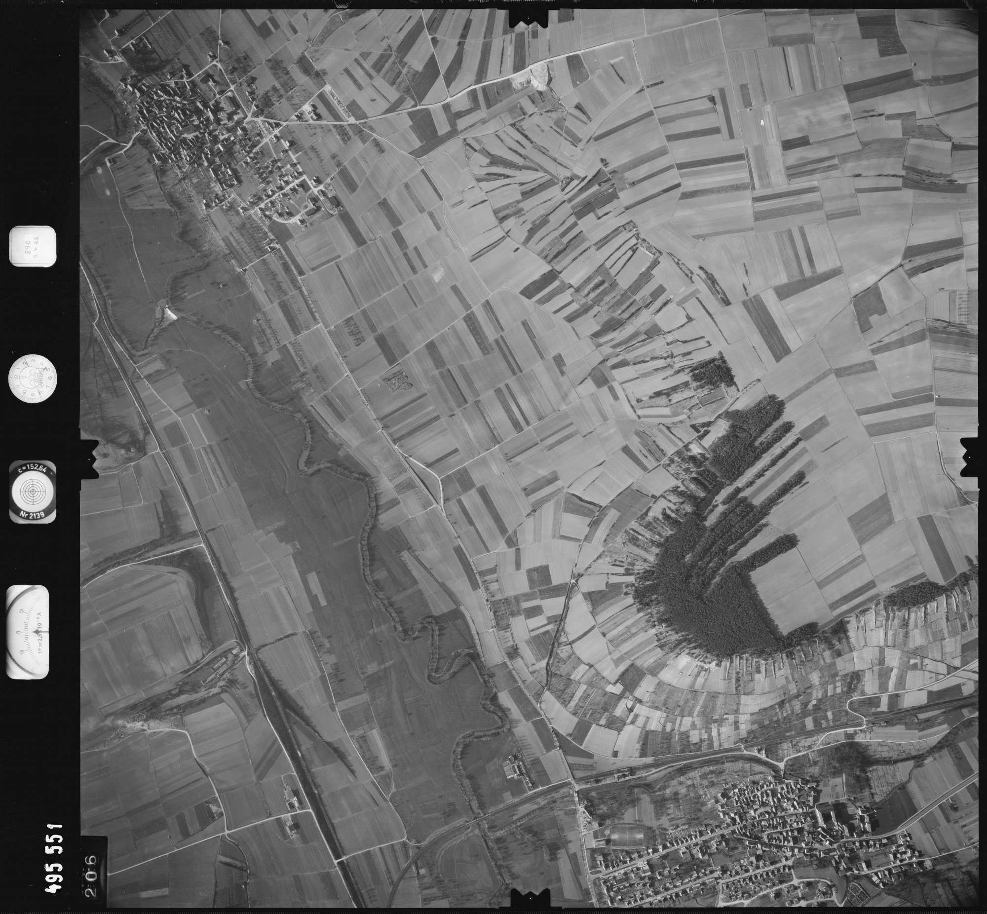 Luftbild: Film 889 Bildnr. 206, Bild 1