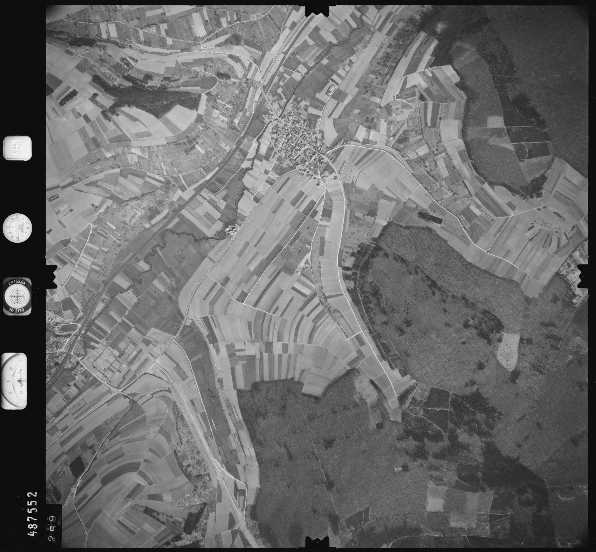 Luftbild: Film 896 Bildnr. 269, Bild 1