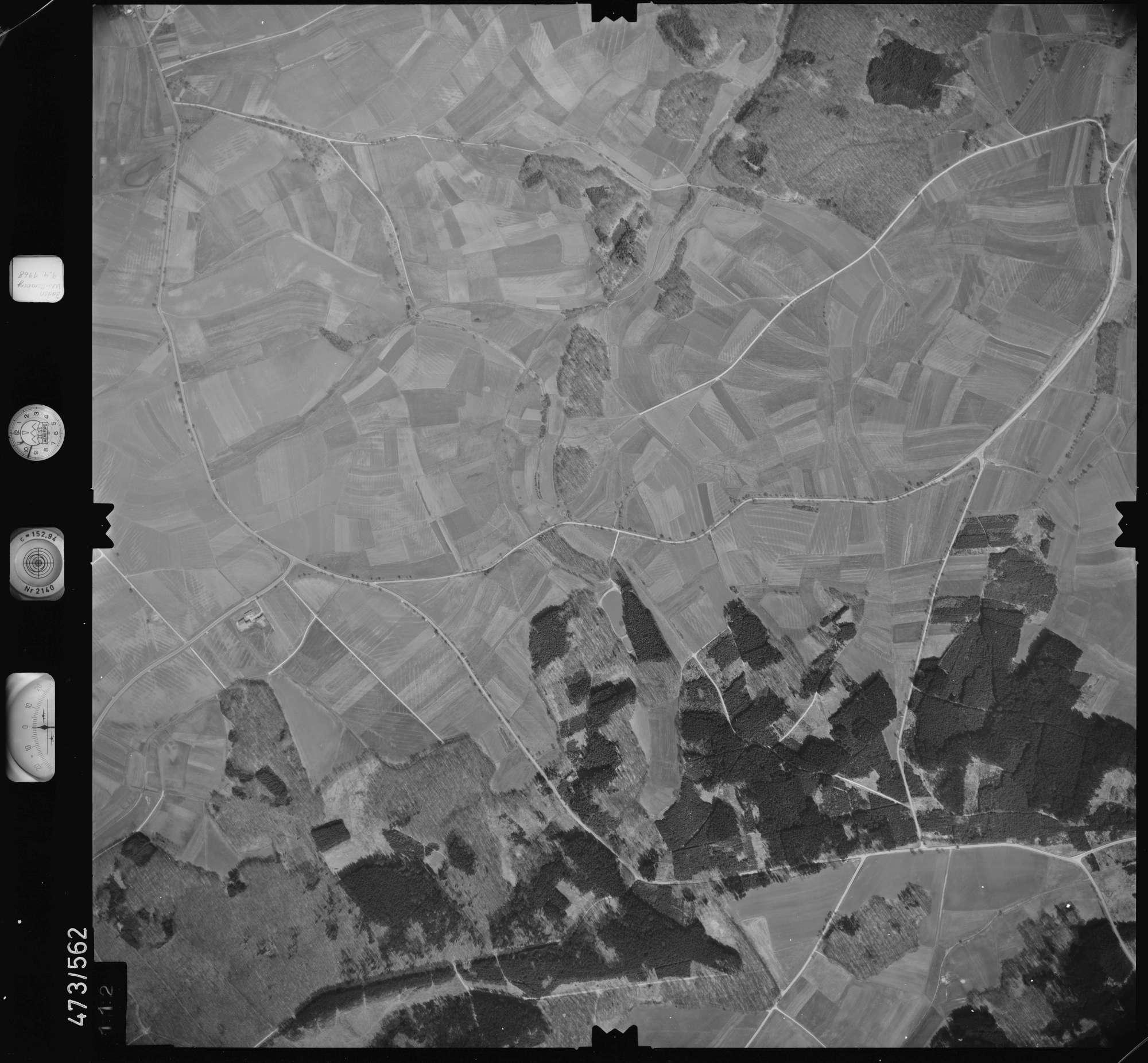 Luftbild: Film 100 Bildnr. 112, Bild 1