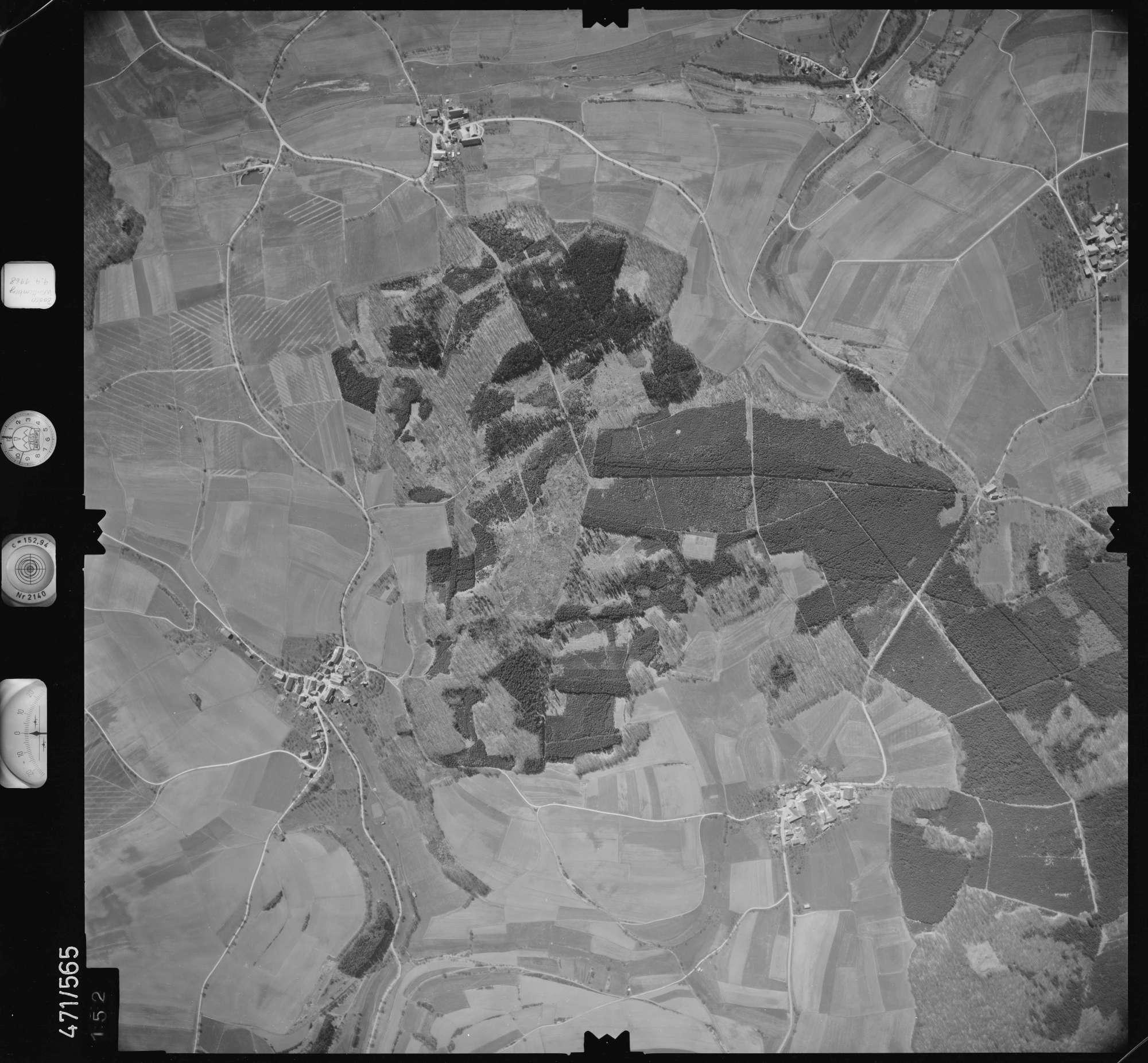 Luftbild: Film 100 Bildnr. 152, Bild 1