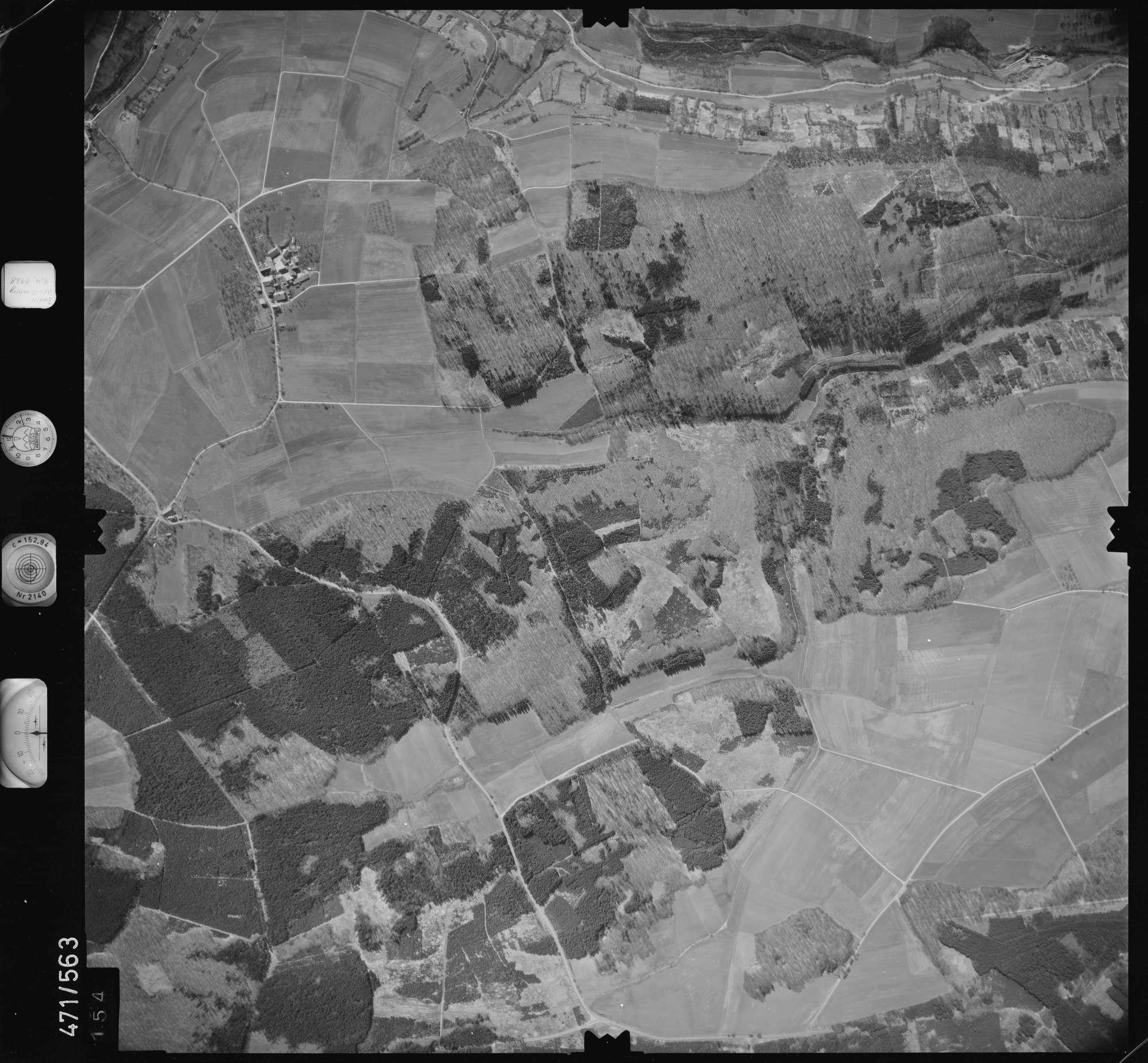 Luftbild: Film 100 Bildnr. 154, Bild 1