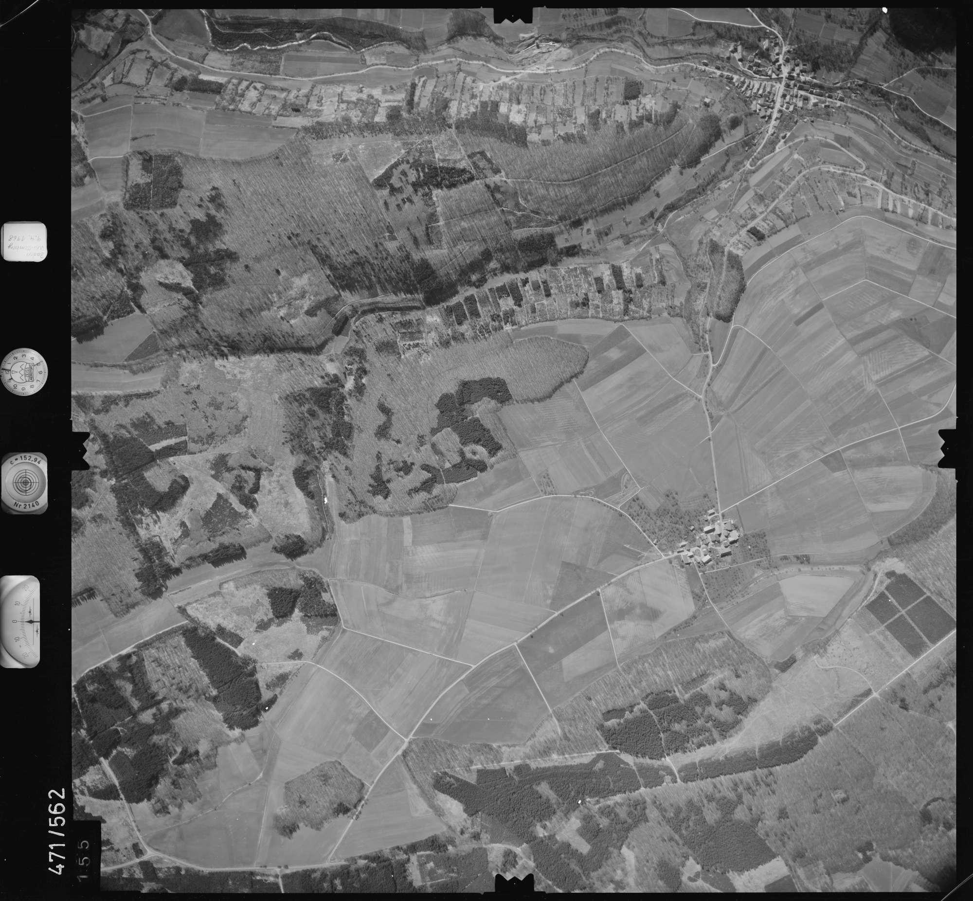 Luftbild: Film 100 Bildnr. 155, Bild 1