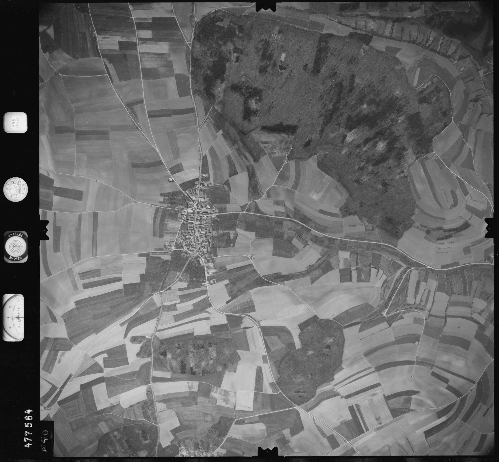 Luftbild: Film 898 Bildnr. 850, Bild 1
