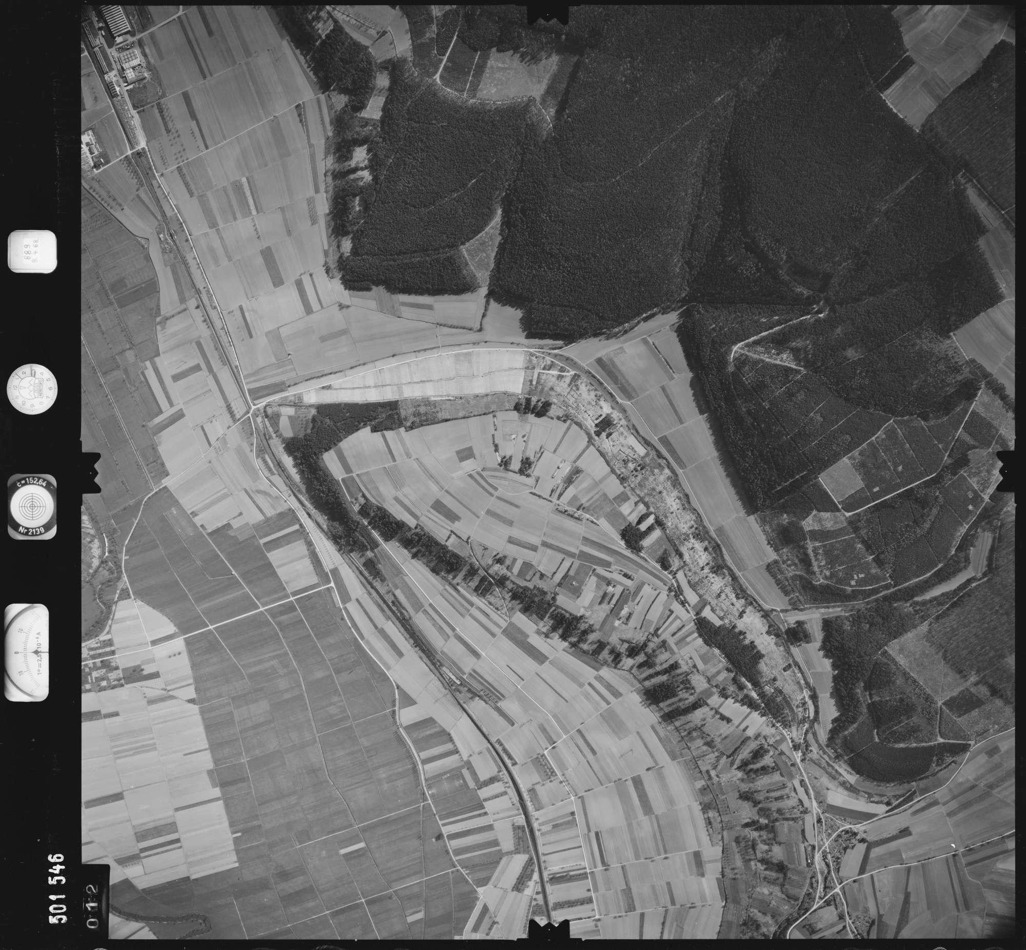 Luftbild: Film 890 Bildnr. 12, Bild 1
