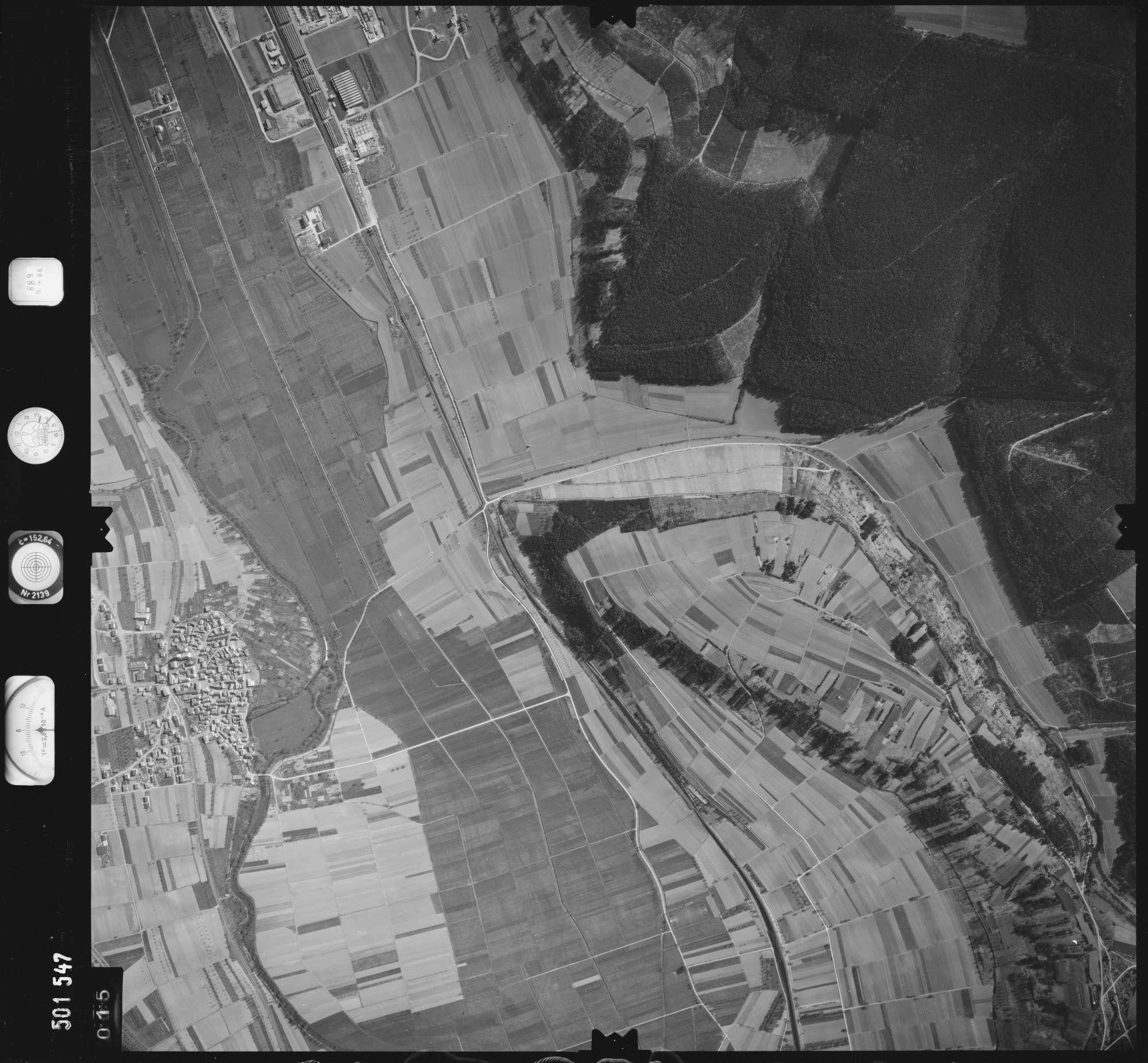 Luftbild: Film 890 Bildnr. 15, Bild 1