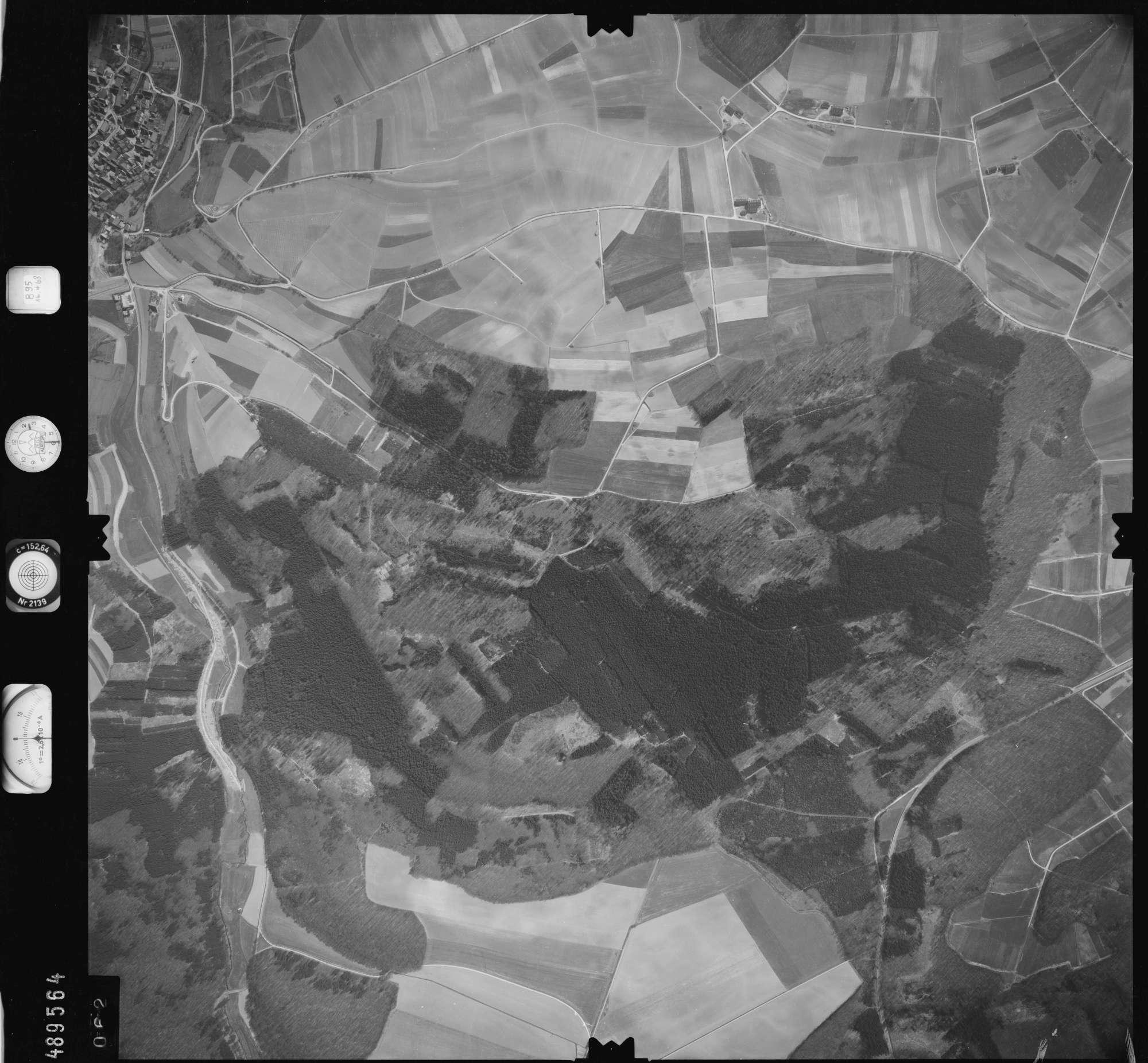 Luftbild: Film 895 Bildnr. 62, Bild 1