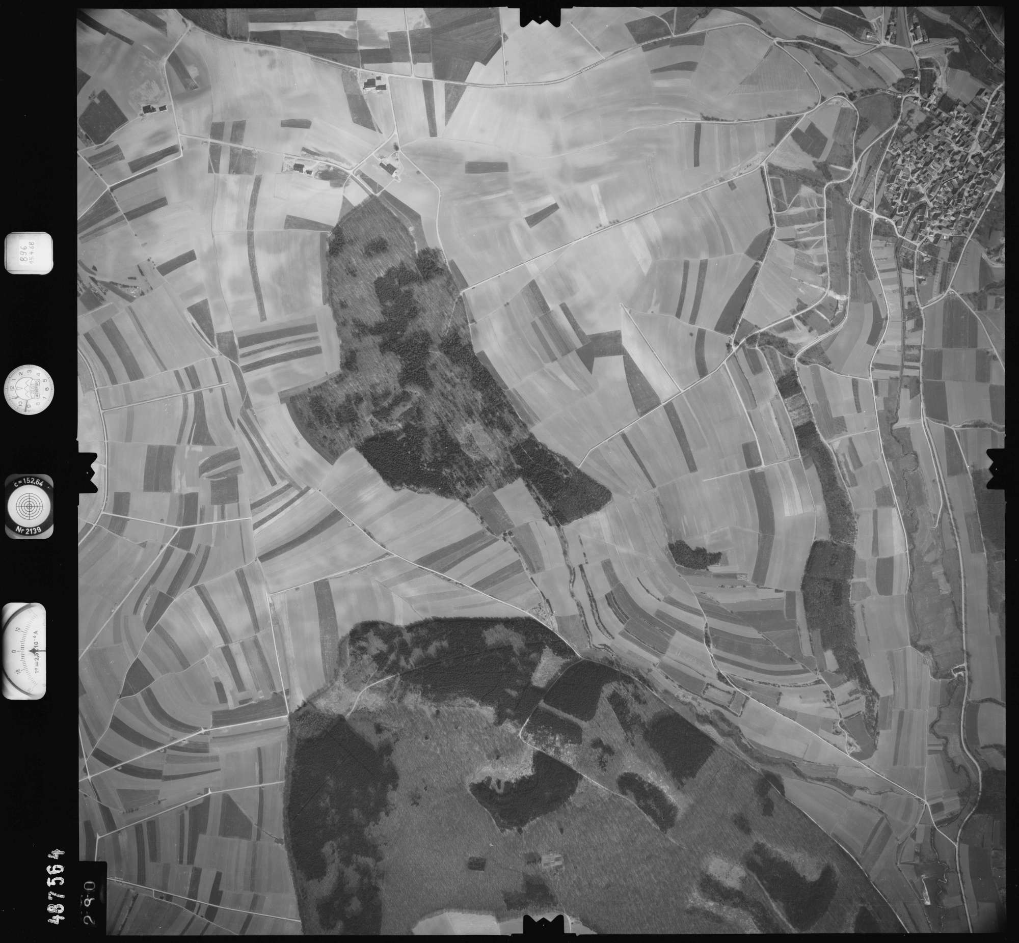 Luftbild: Film 896 Bildnr. 280, Bild 1