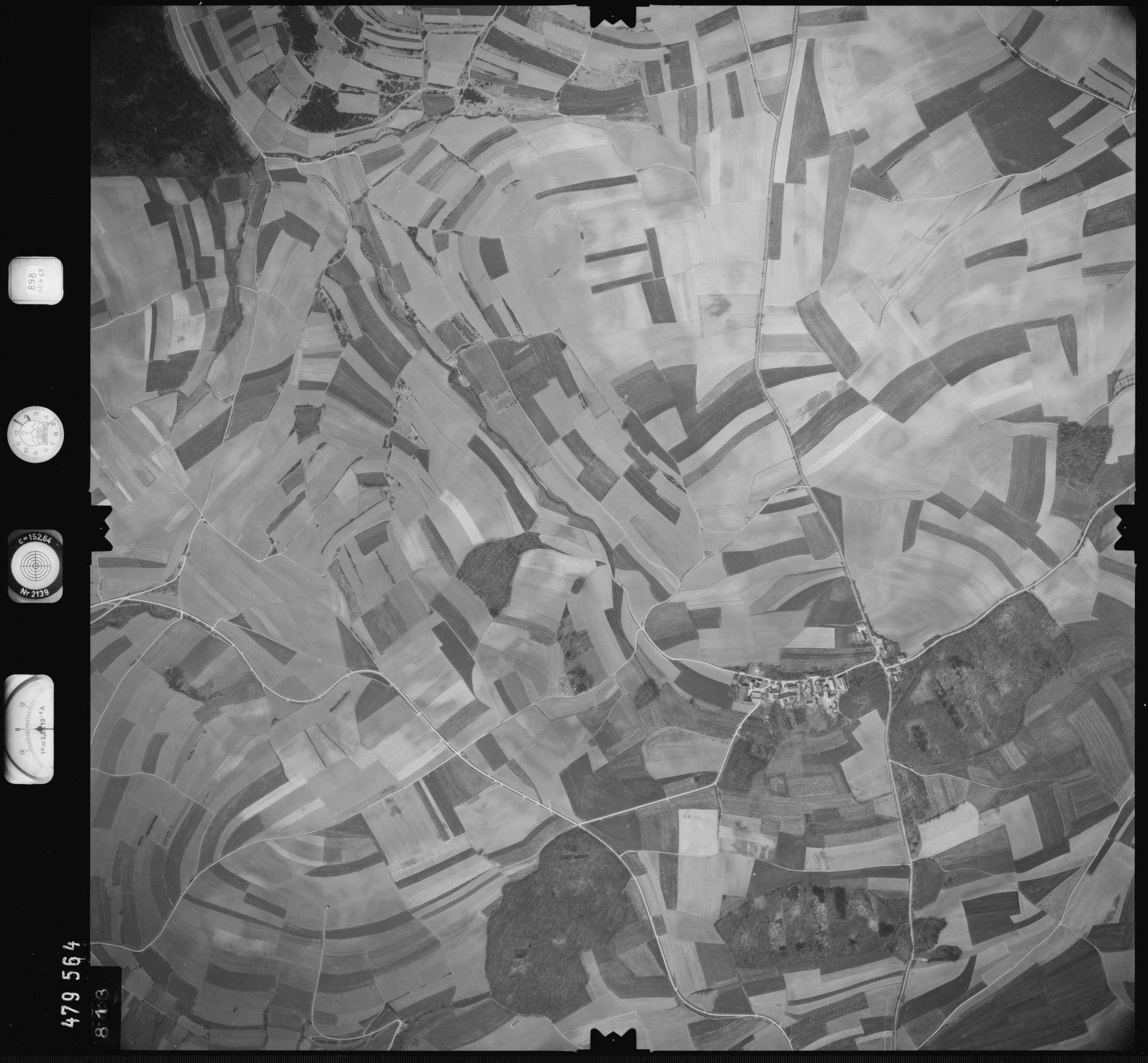 Luftbild: Film 898 Bildnr. 813, Bild 1